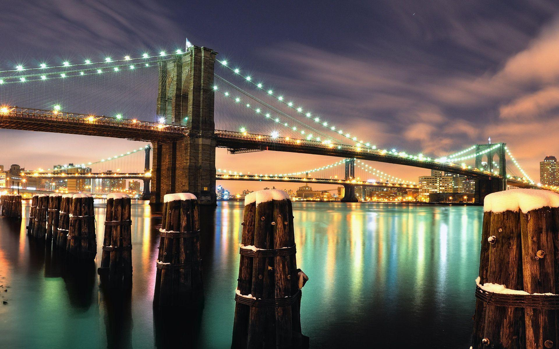 New York Brooklyn Bridge wallpapers