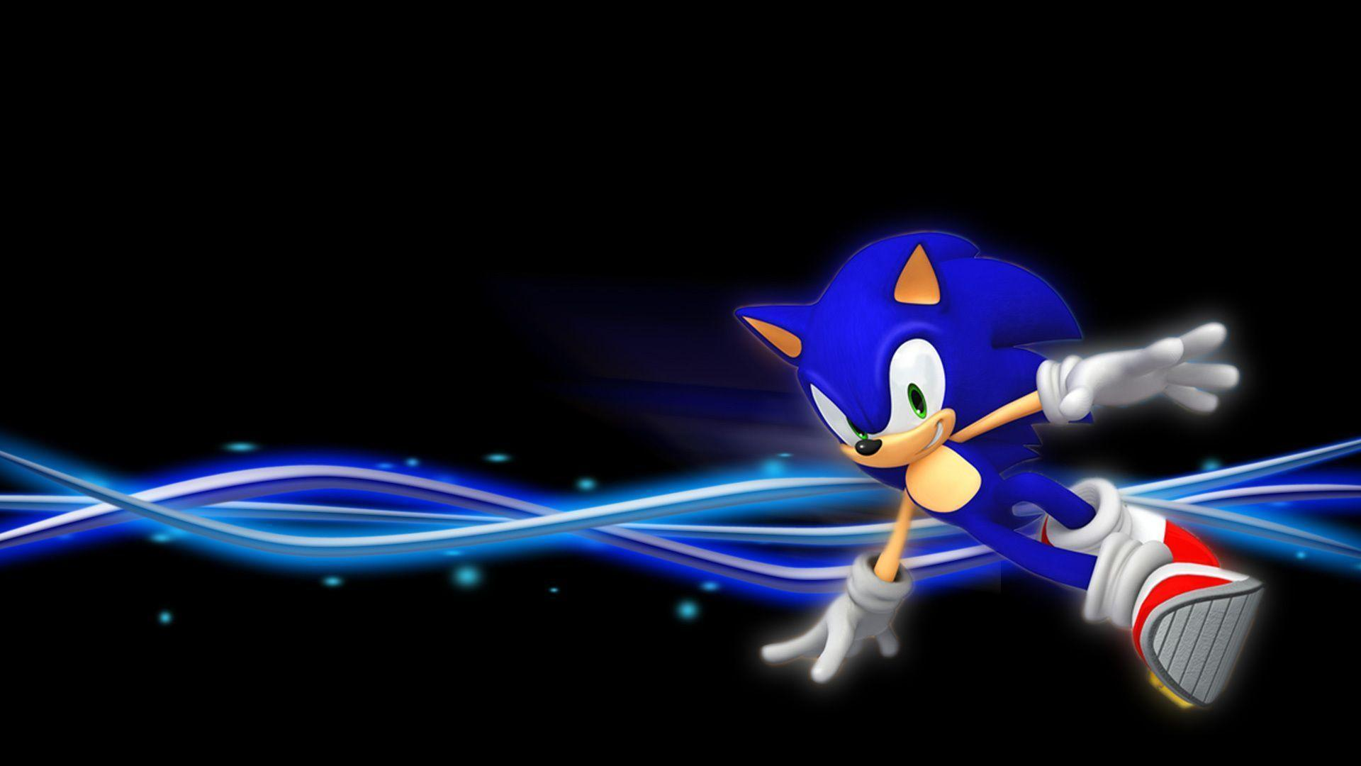 Wallpapers For > Classic Sonic The Hedgehog Wallpapers
