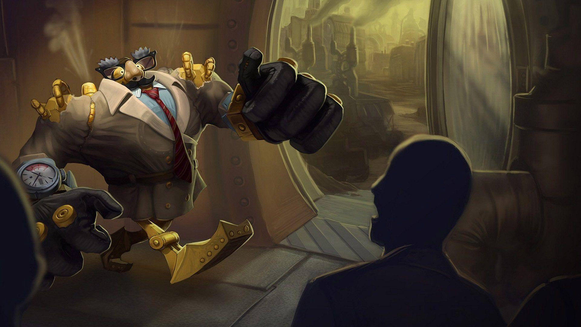 Blitzcrank Wallpapers - Wallpaper Cave
