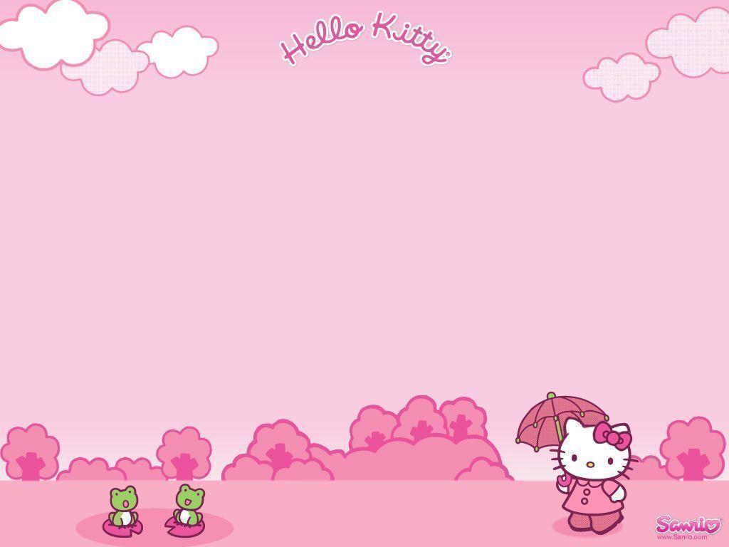 Hello Kitty Desktop Wallpapers Wallpaper Cave