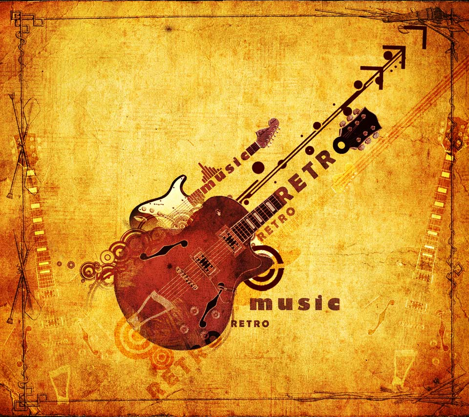 Retro music wallpapers wallpaper cave for Retro images