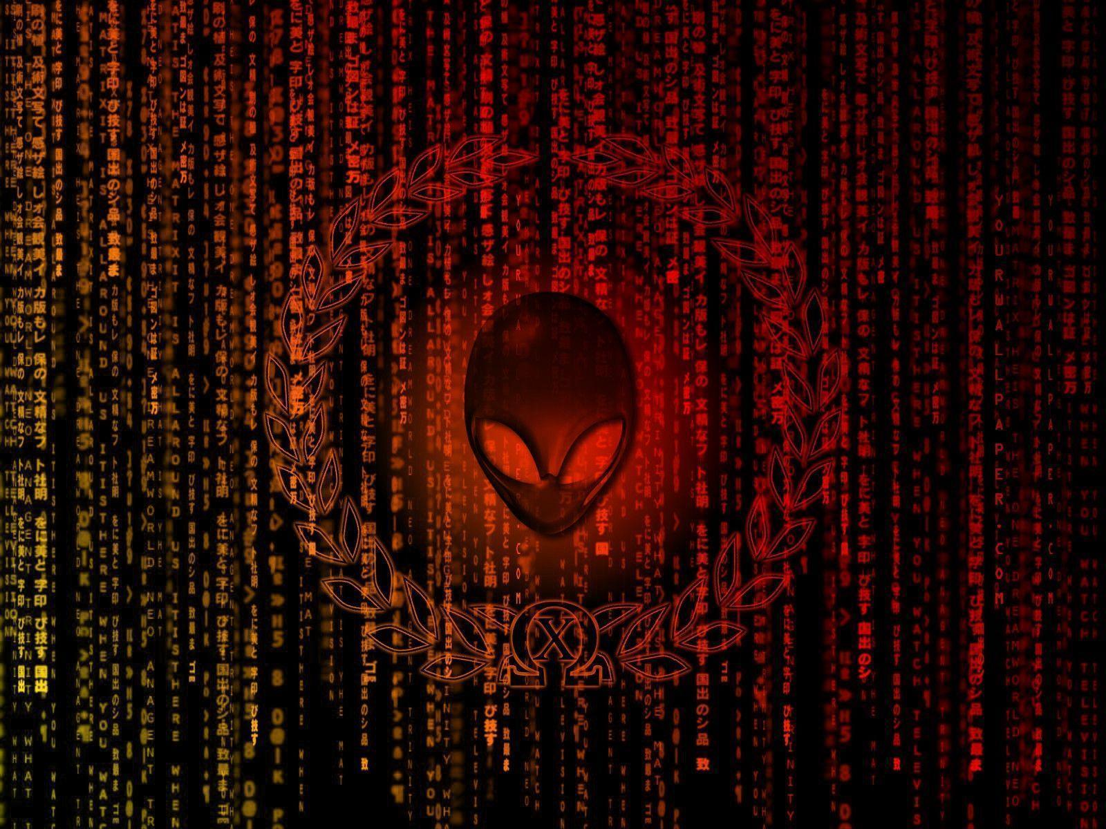 alienware desktop background red - photo #14