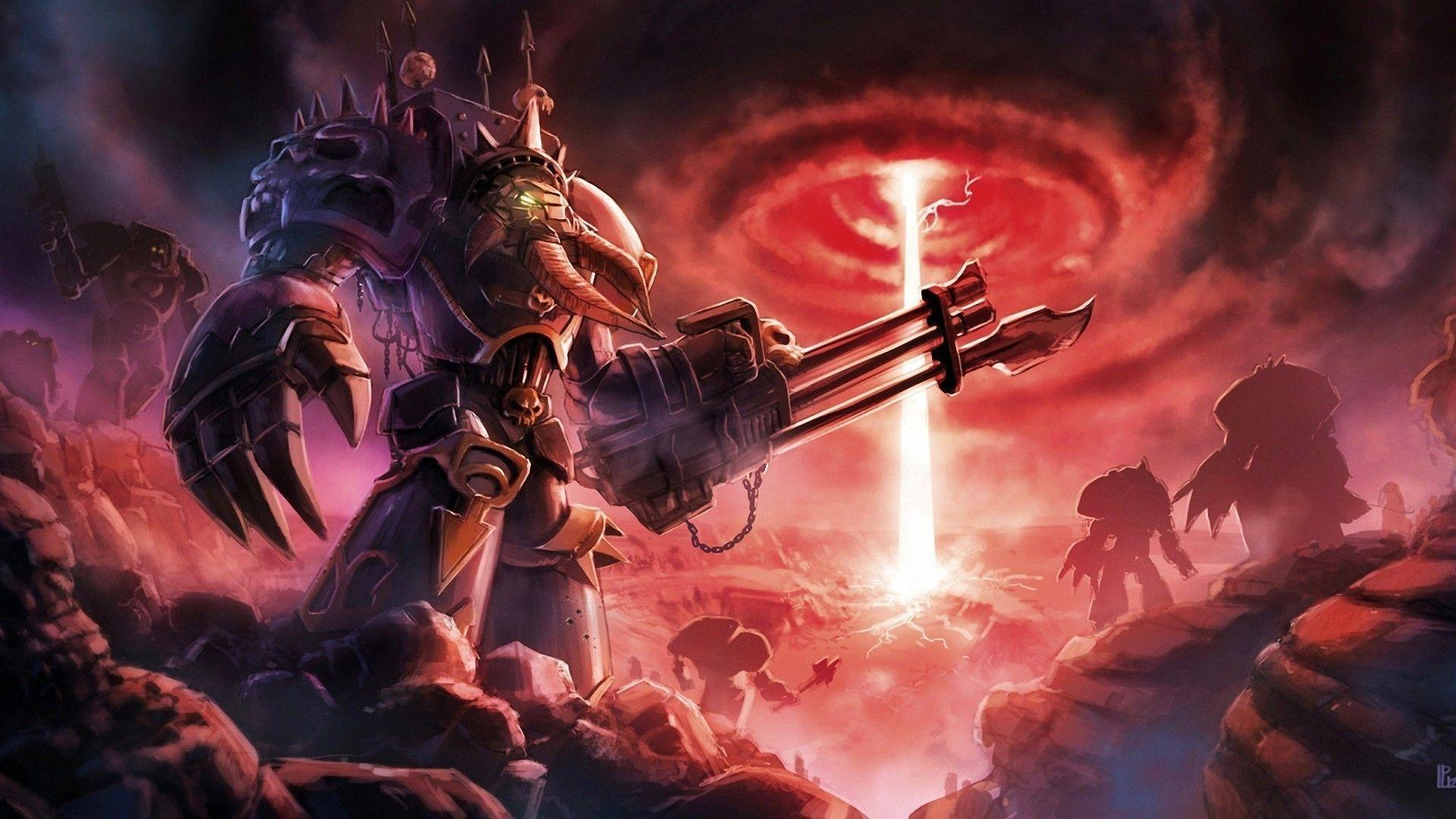 Chaos Space Marines Wallpapers - Wallpaper Cave