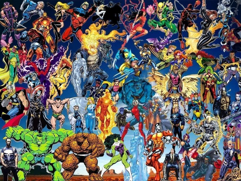marvel dc wallpaper by - photo #2