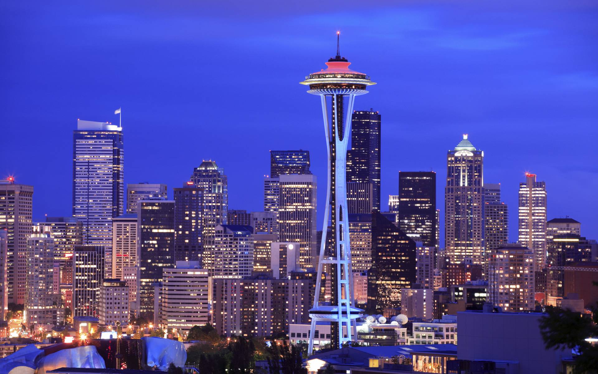 Seattle HD Wallpaper | Seattle Space Needle Images | Cool Wallpapers