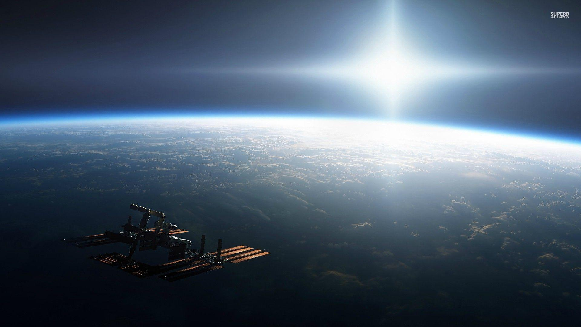 International space station wallpapers wallpaper cave - Space station wallpaper ...