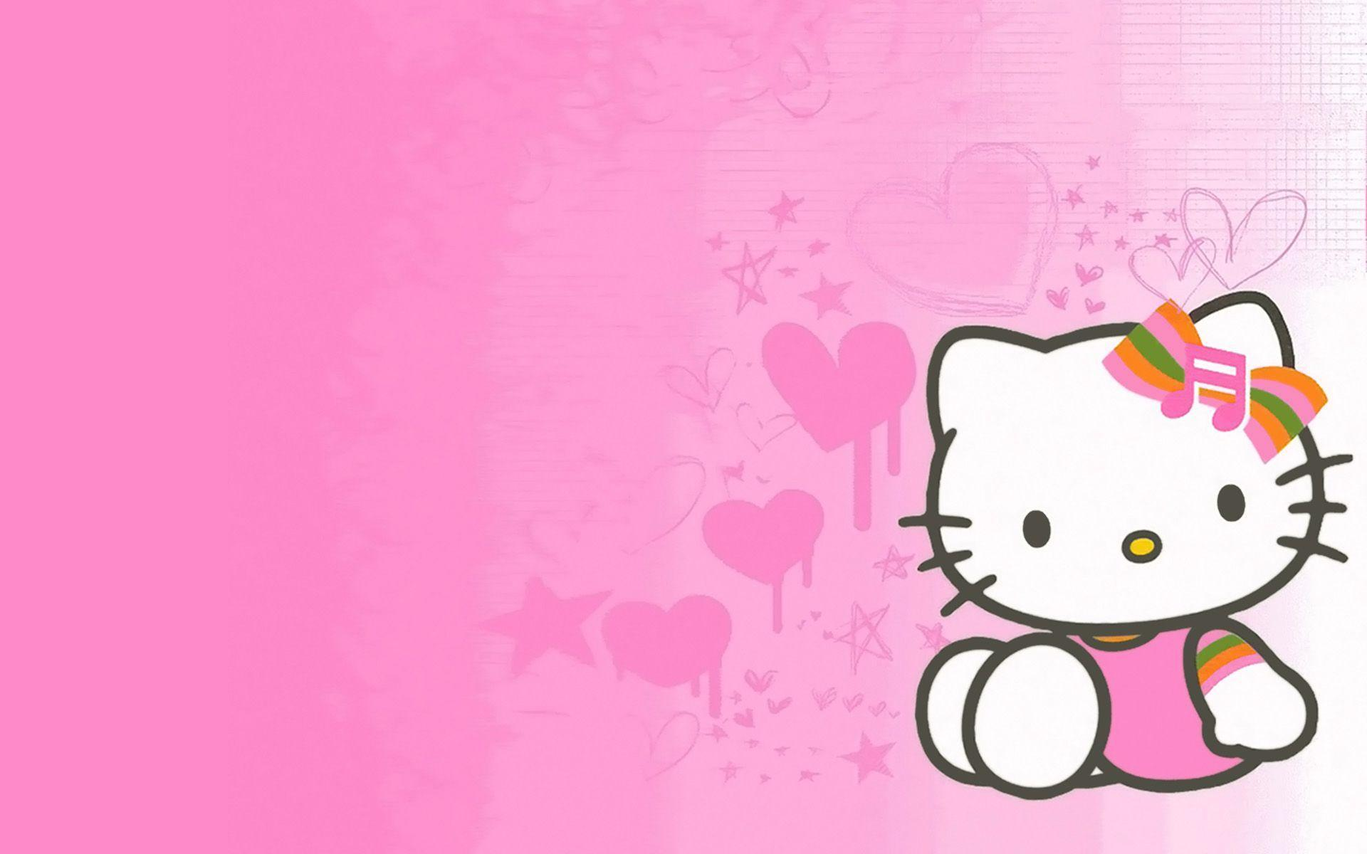Wallpapers For White Hello Kitty Background
