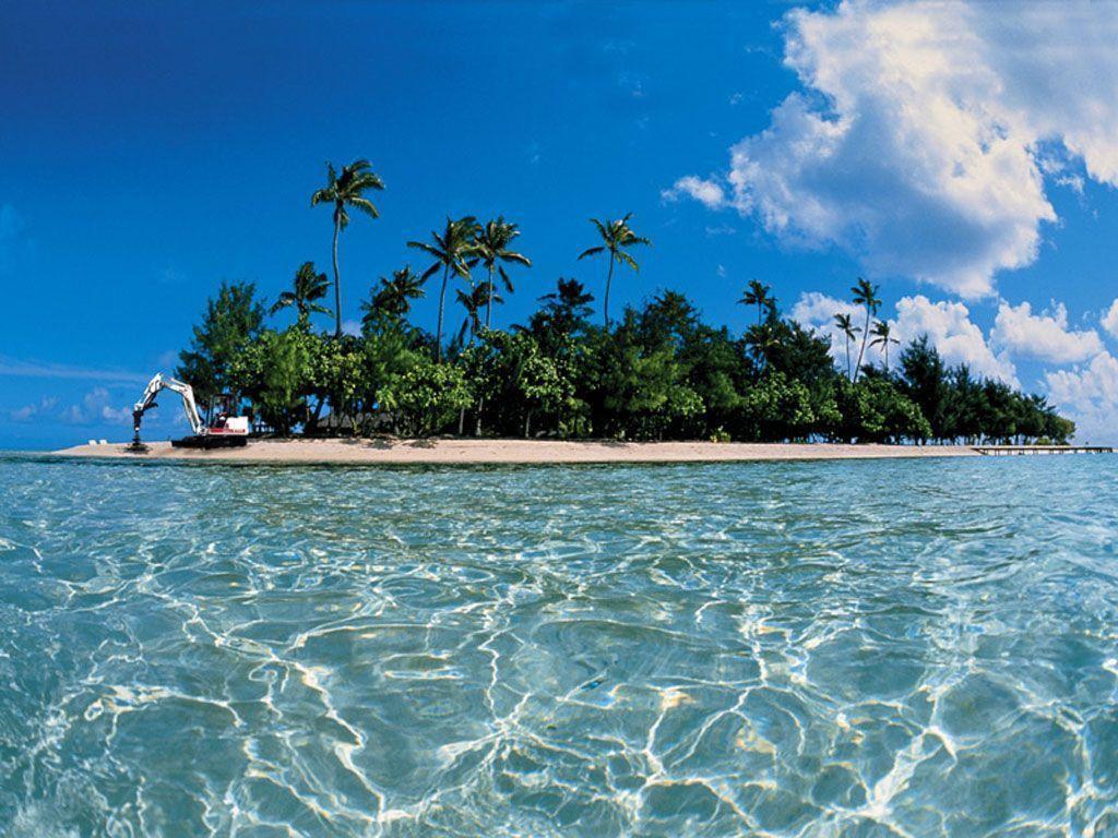 Tropical Paradise Beach Hd Wallpaper For Nexus 7 Screens: Island Backgrounds For Desktop