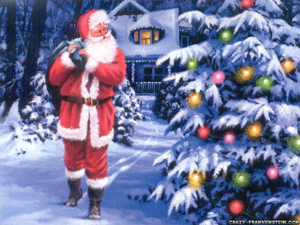 Santa Claus Wallpapers Free Wallpaper Cave