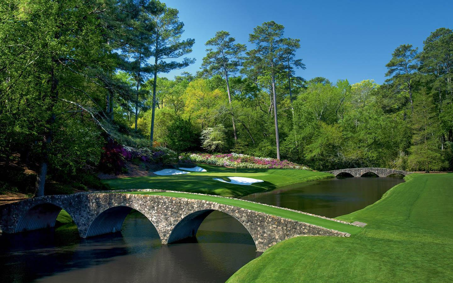 Augusta national wallpapers wallpaper cave for Augusta national wall mural