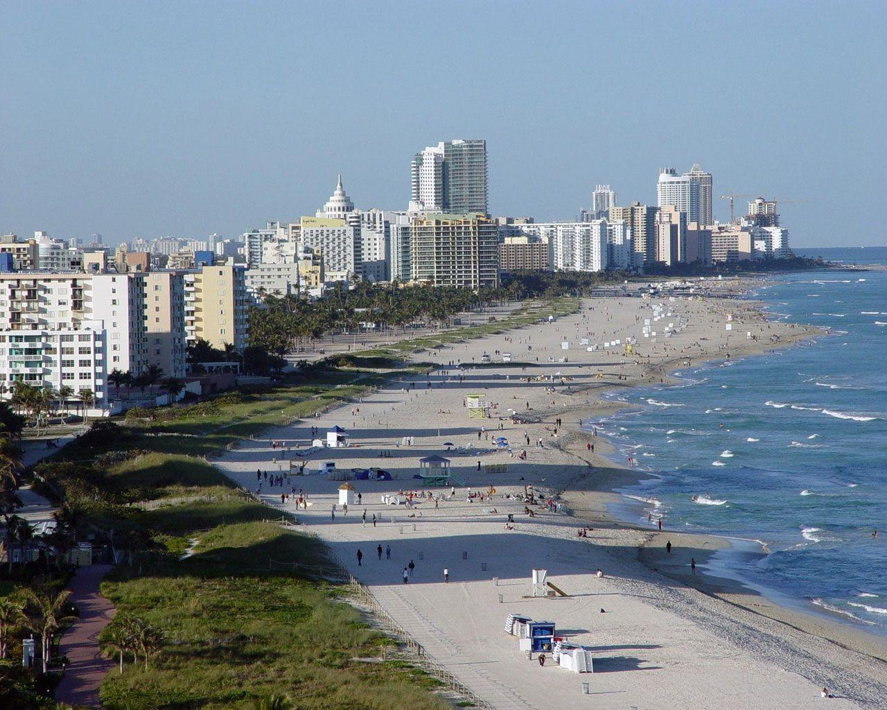 Miami Beach Widescreen picture Wallpaper - Laut Digital
