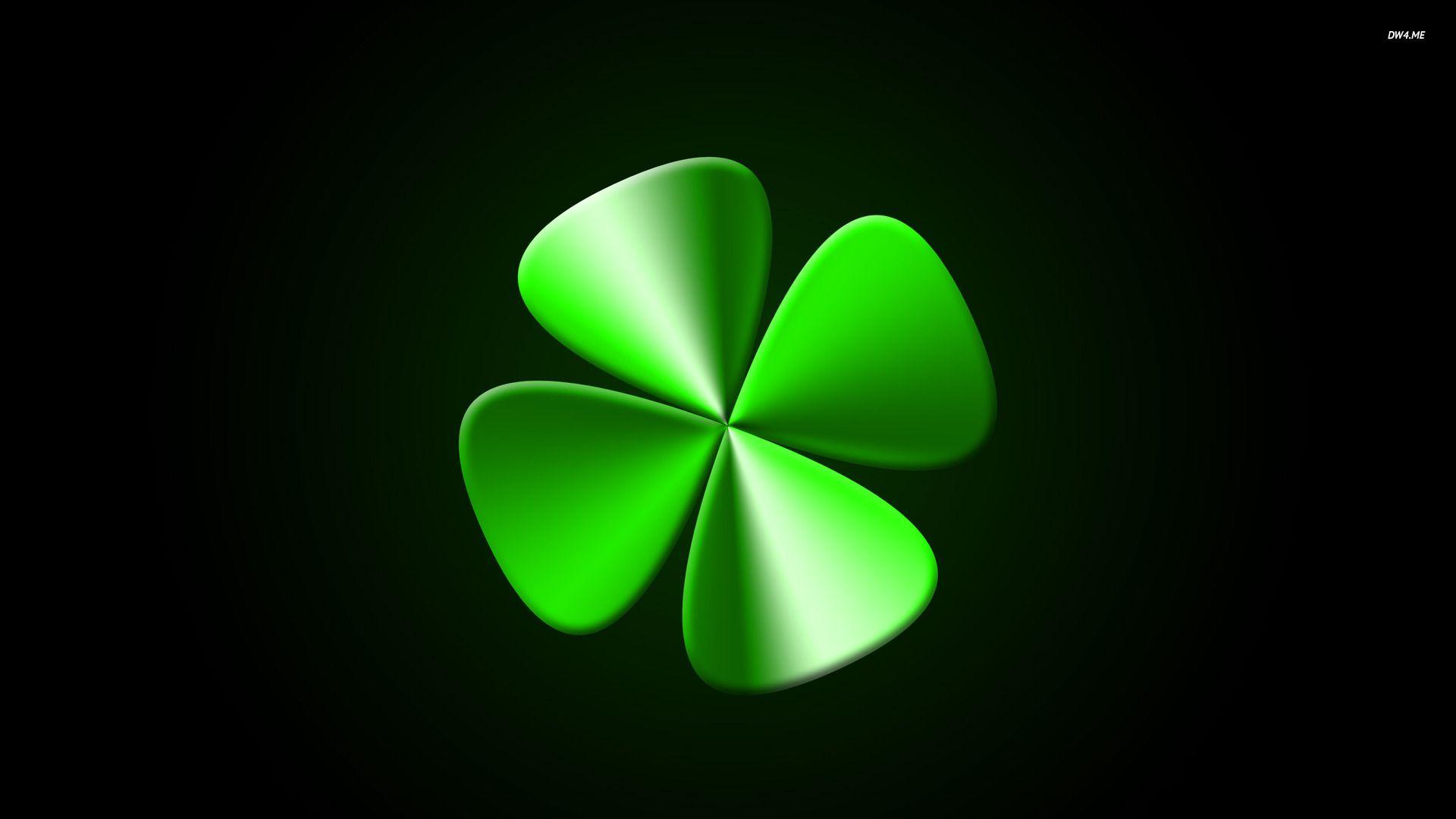 Pix For > Four Leaf Clover Backgrounds