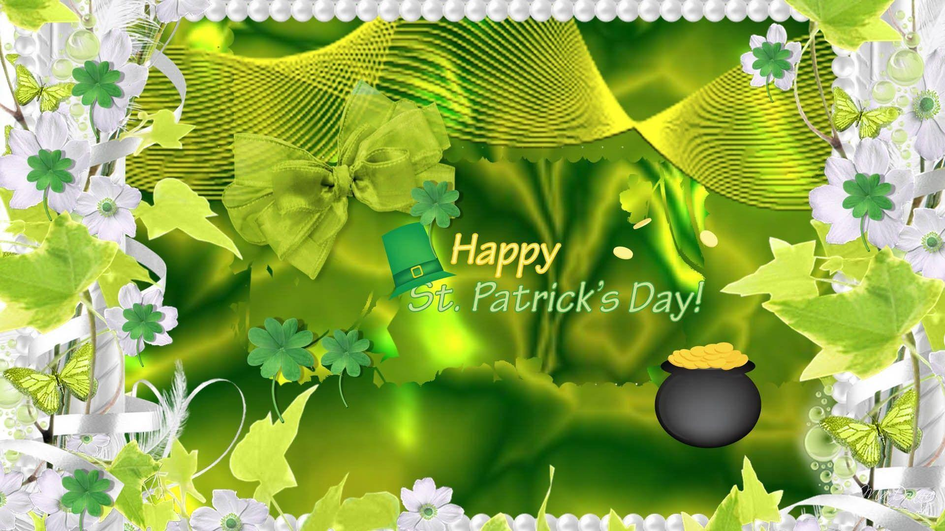 Wallpapers For > Cute Animal St Patricks Day Wallpaper