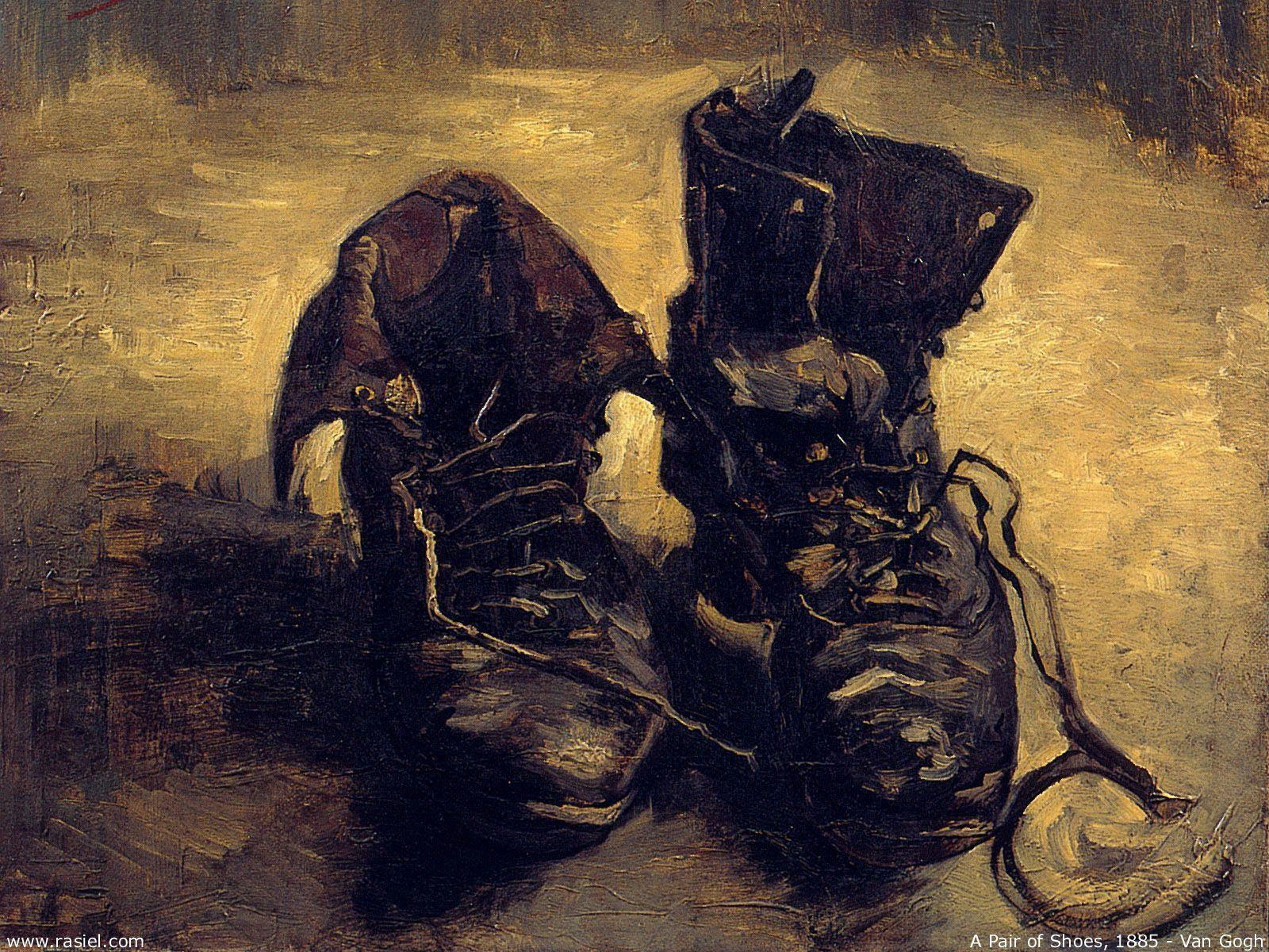 Download Paintings Shoes Wallpapers 1600x1200