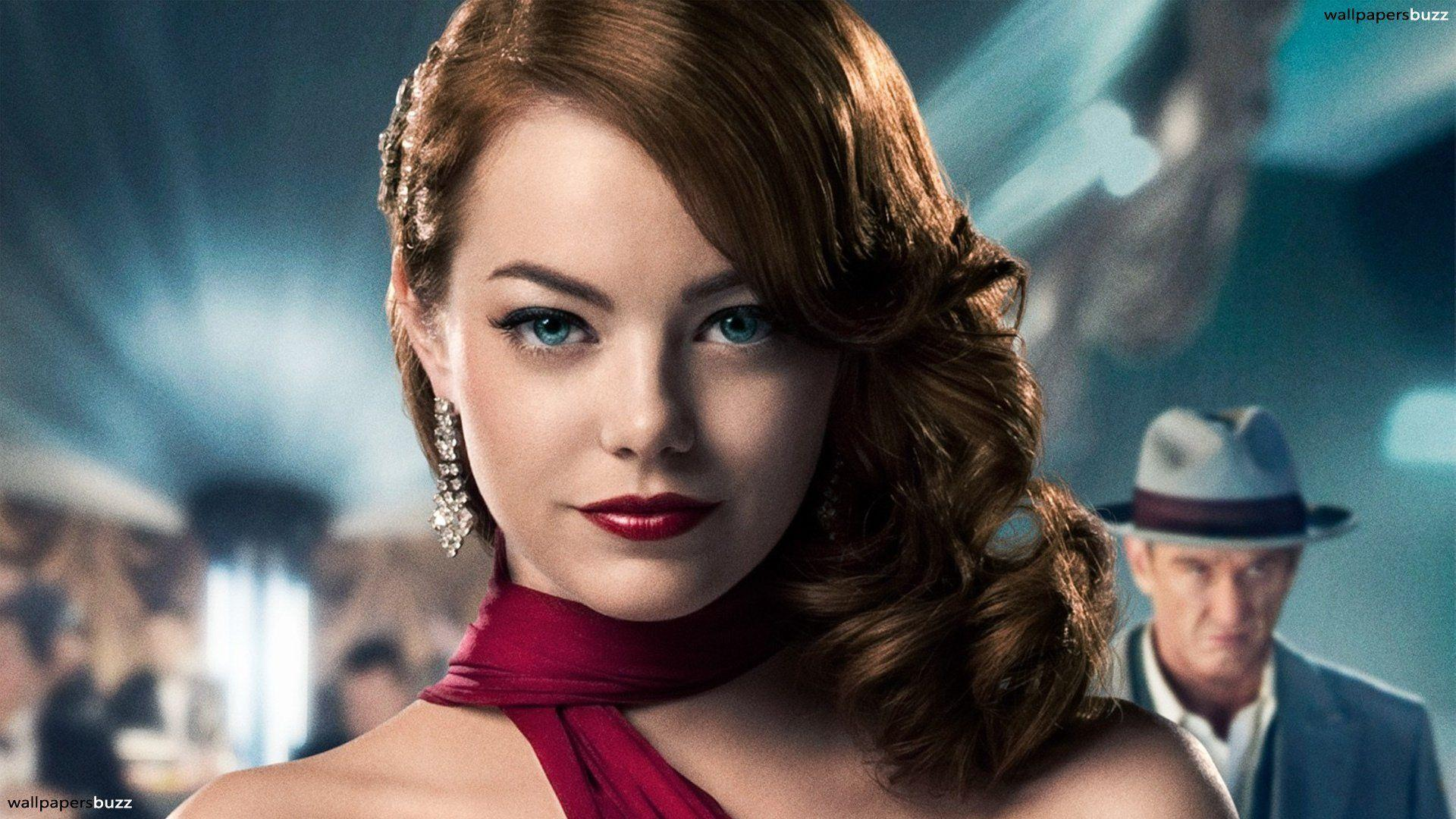 Emma Stone White Backgrounds Wallpapers