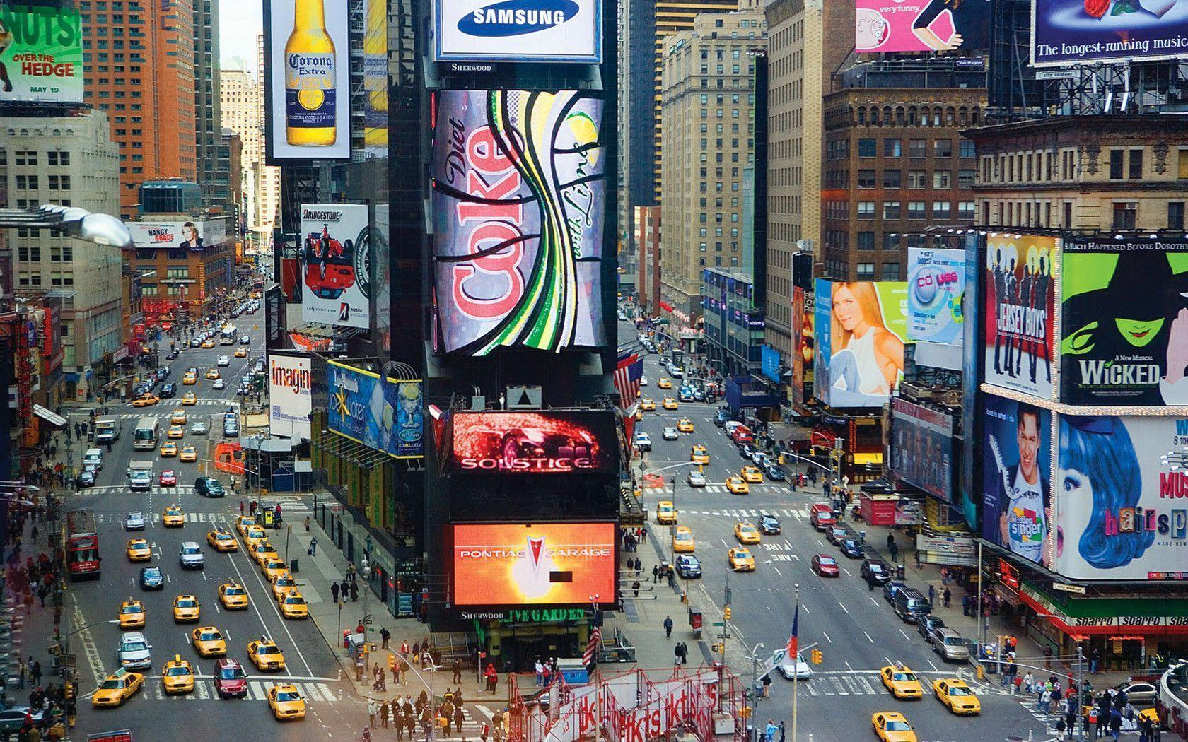 New York Times Square See Sight wallpaper
