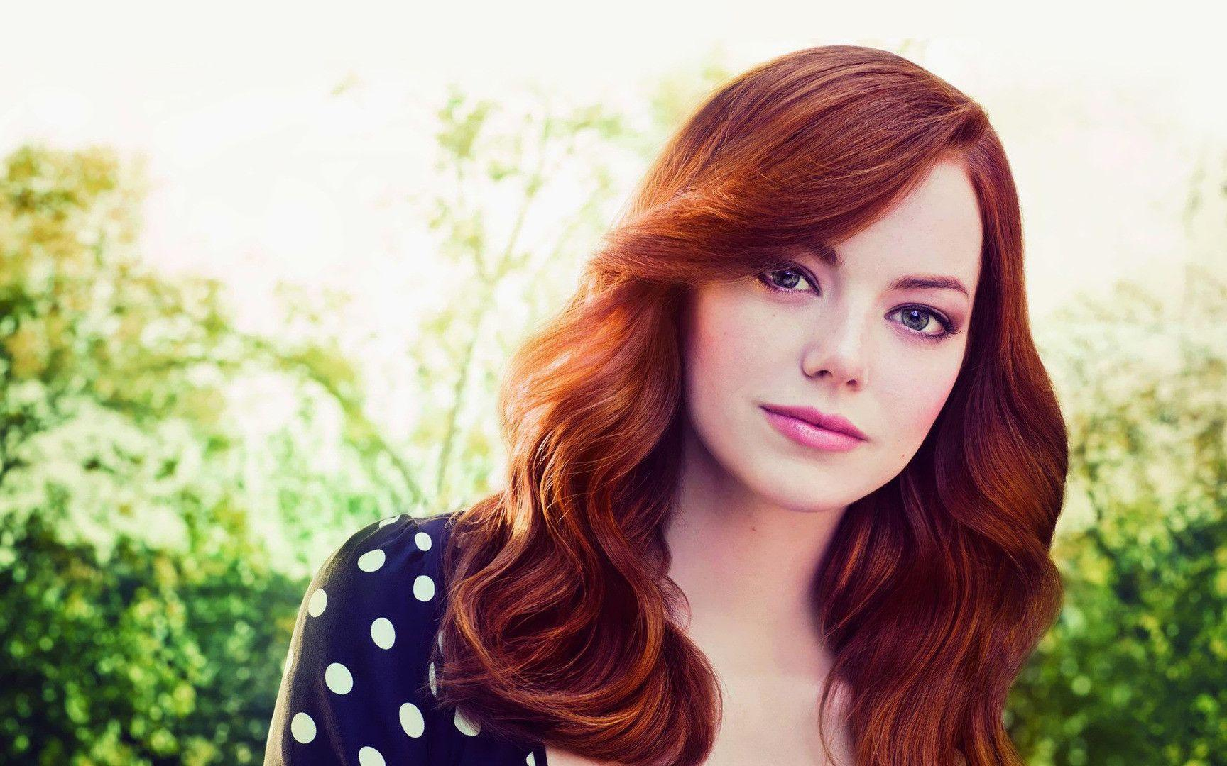 Emma Stone Hair Color WallpaperWallpic.us | High Definition ...