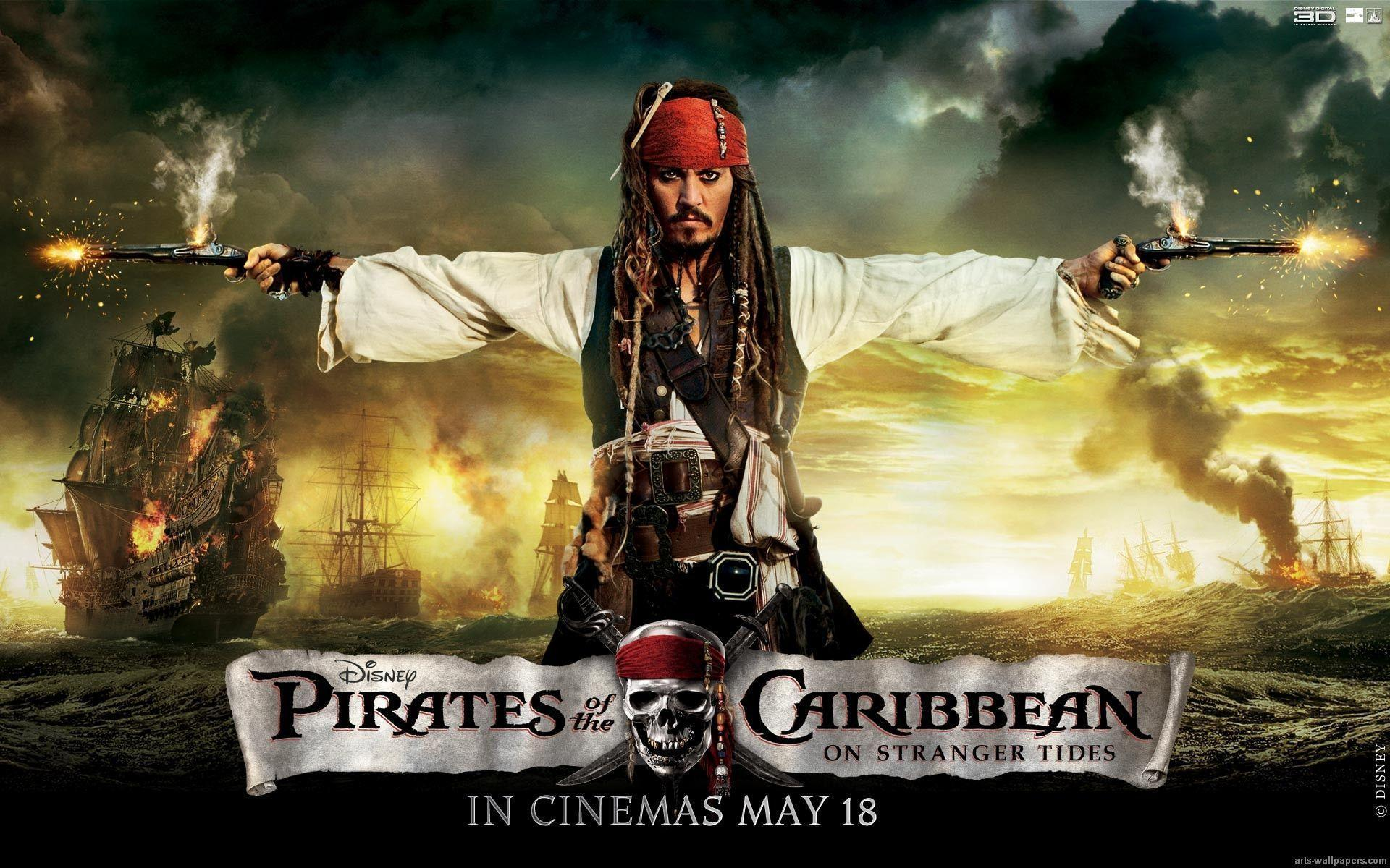 Pirates Of The Caribean Wallpaper: Captain Jack Sparrow Wallpapers