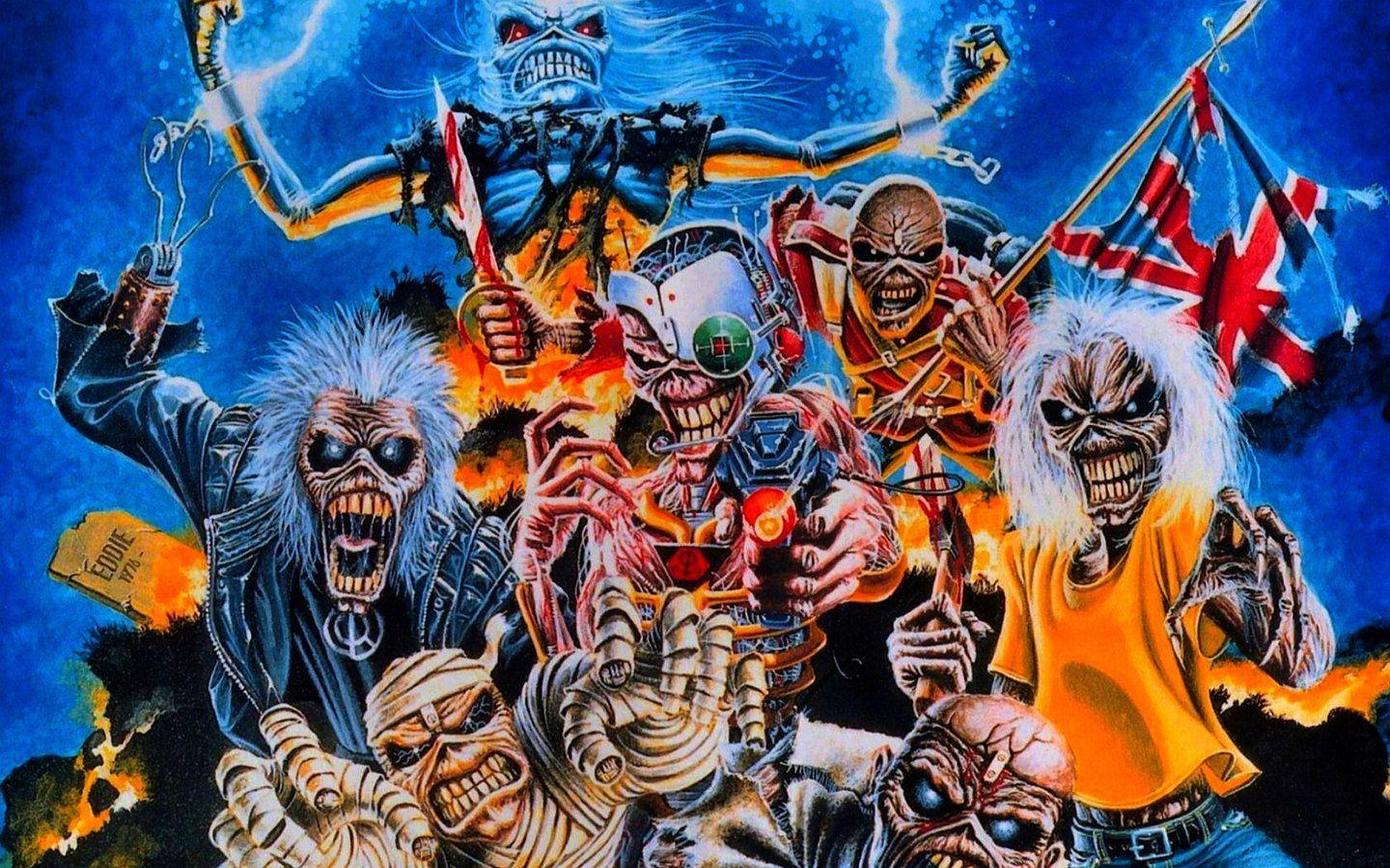 iron maiden wallpapers covers - photo #22