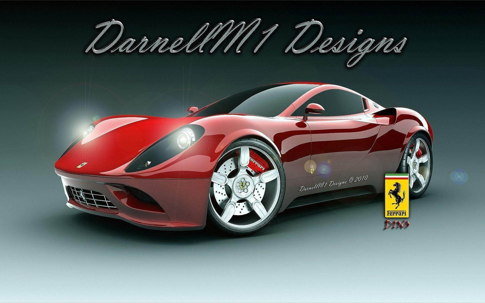 Ferrari Dino Concept Wallpapers