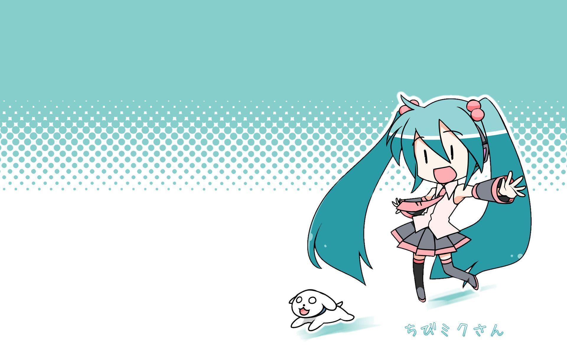 Chibi Miku wallpapers