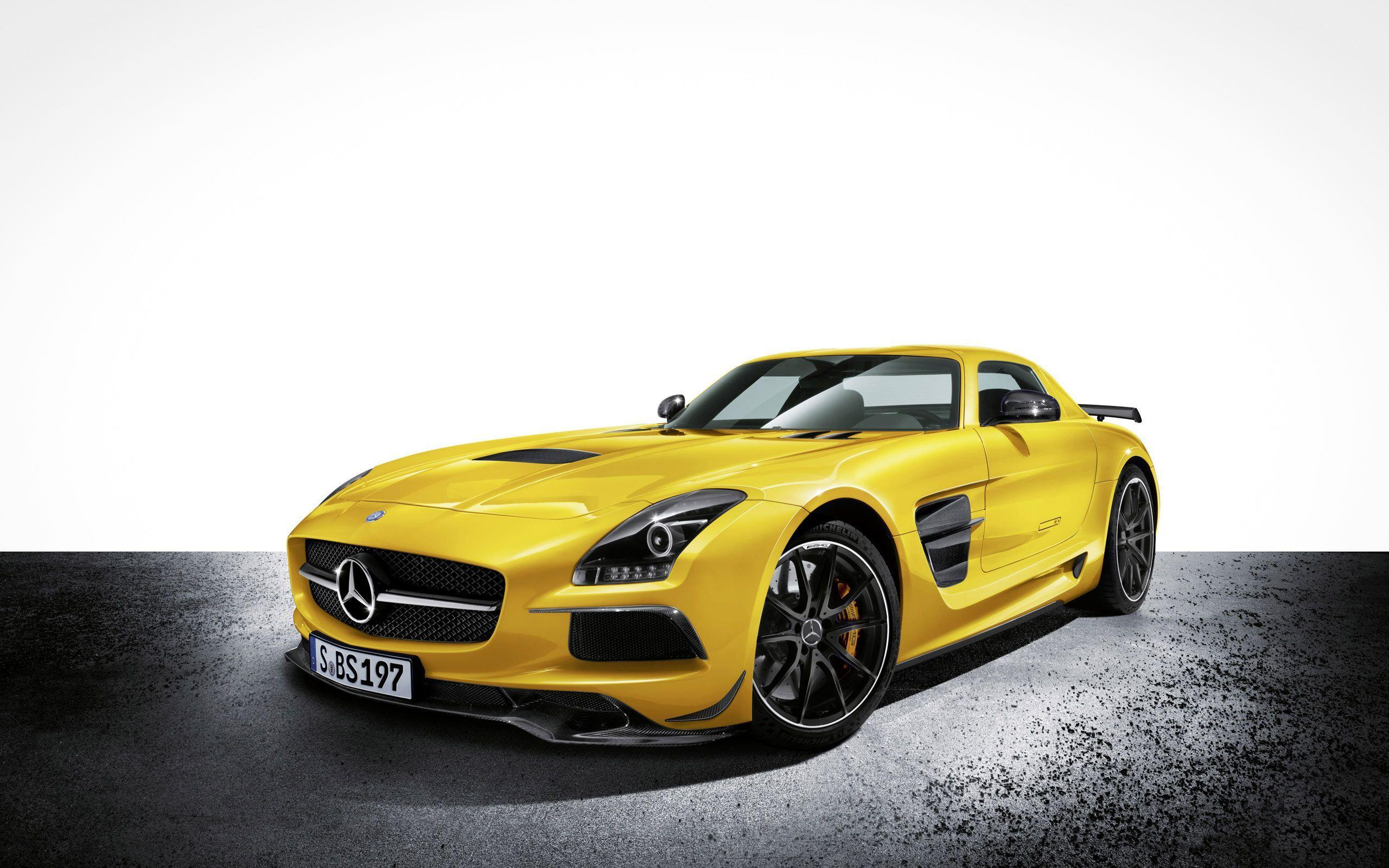 2014 Mercedes Benz SLS AMG Black Series Wallpapers