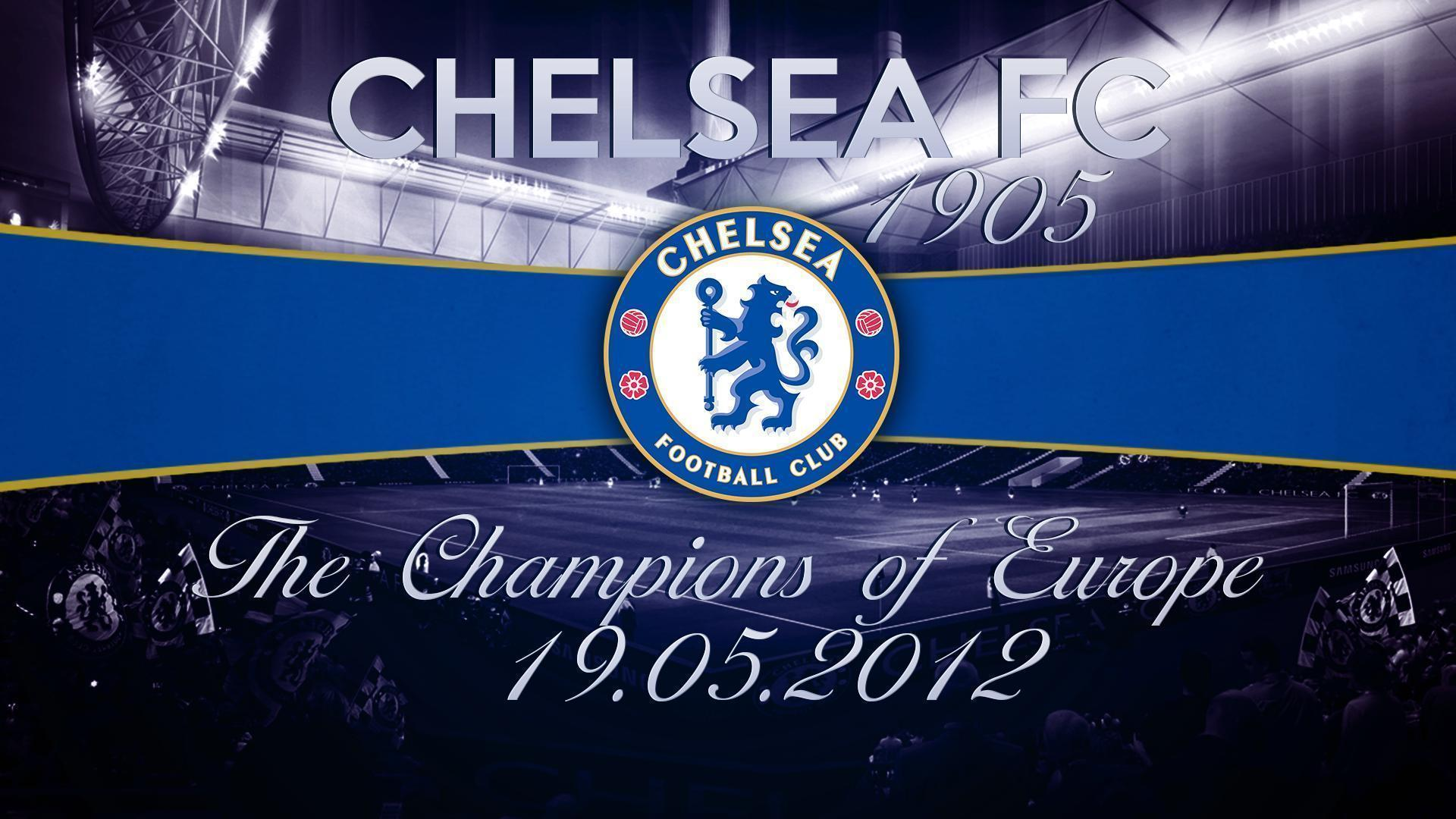 Chelsea F.C. Champions Wallpaper - Football HD Wallpapers