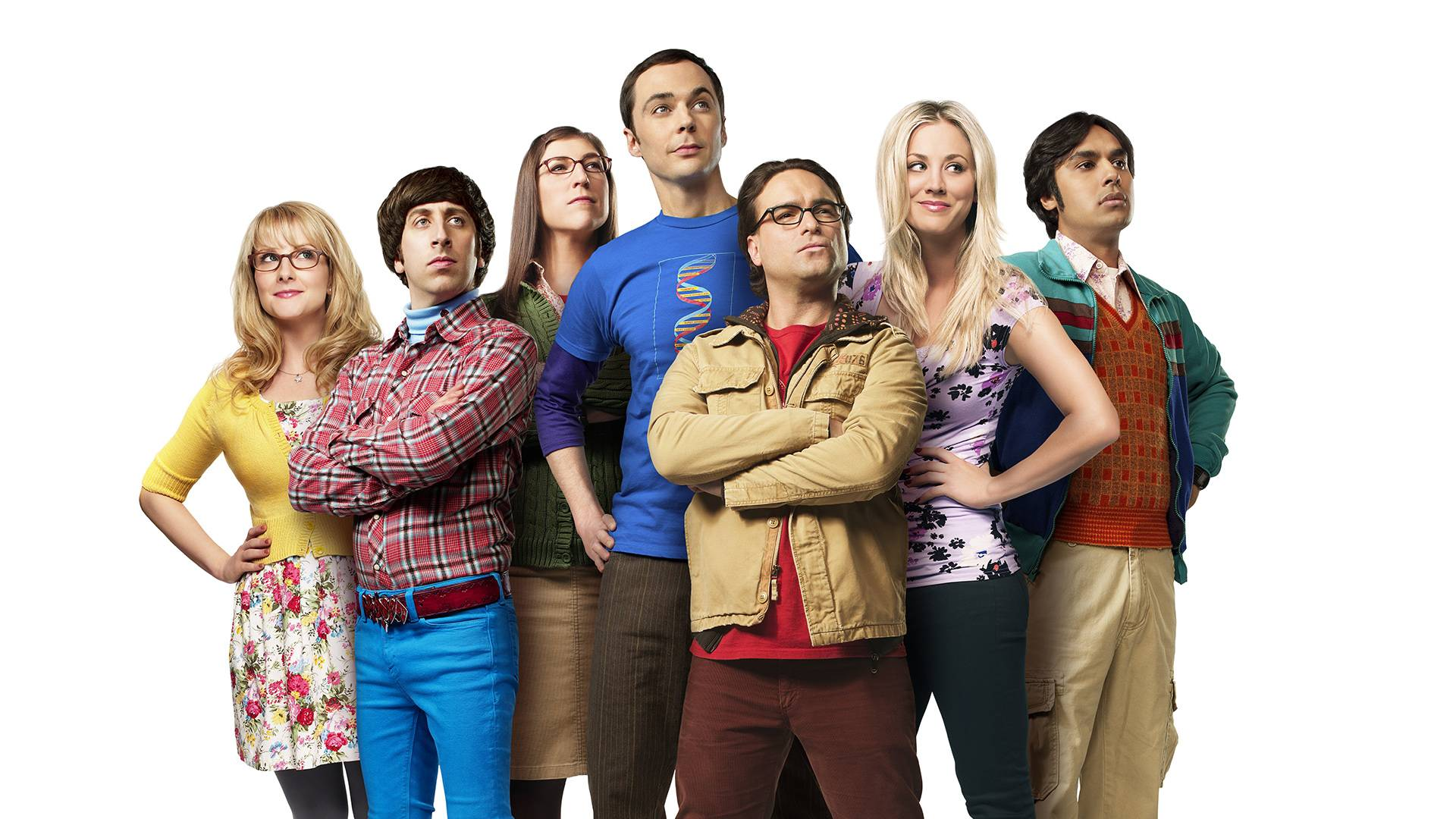 Cast of The Big Bang Theory | Wallpapers HD