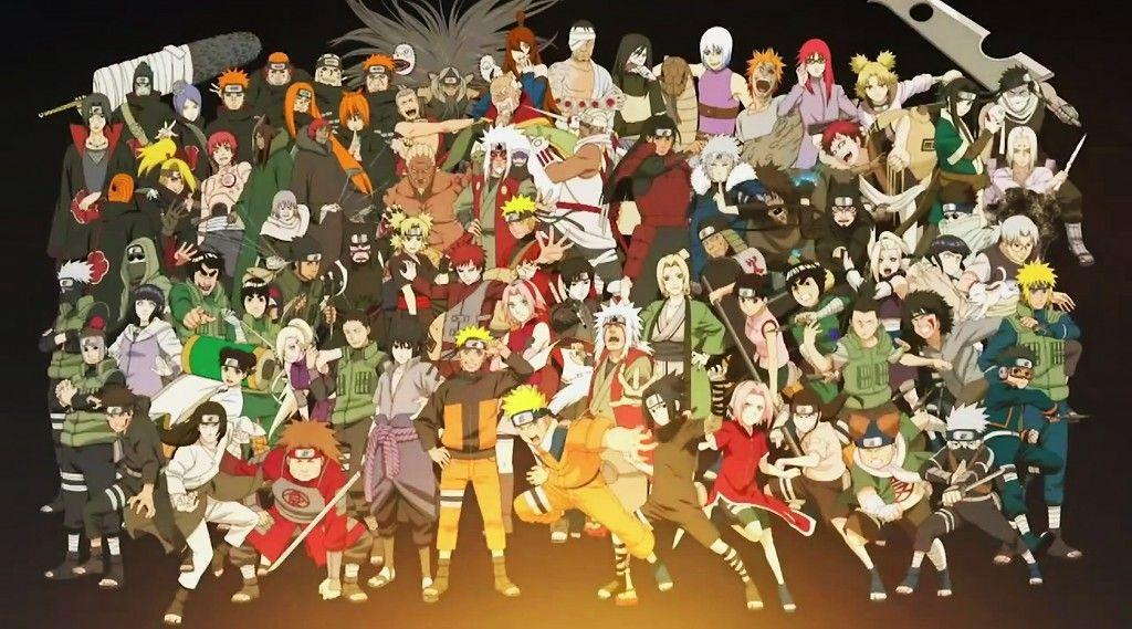 Anime Characters From Naruto : Naruto characters wallpapers wallpaper cave