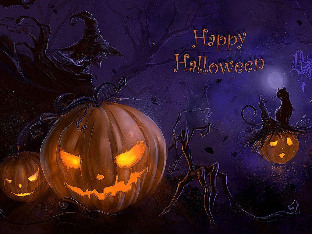 Free Scary Halloween Wallpapers - Wallpaper Cave