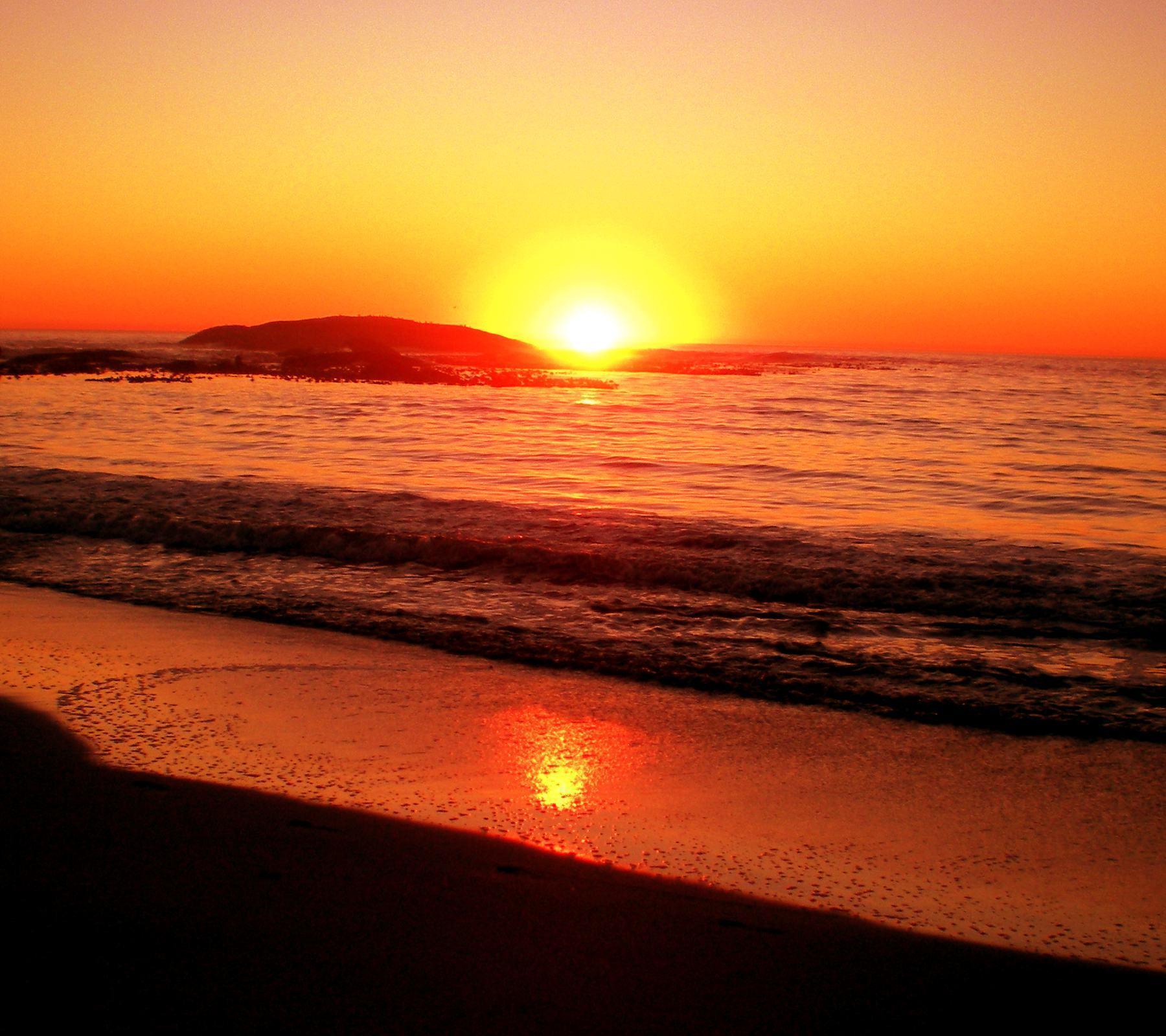 Beach Sunset Backgrounds