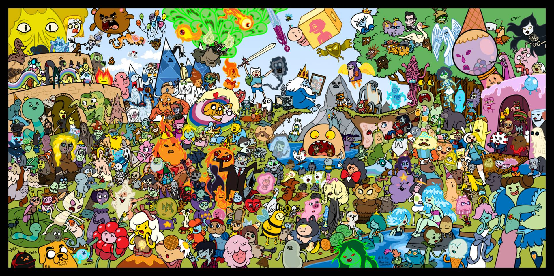 Pix For > Adventure Time Wallpaper Hd