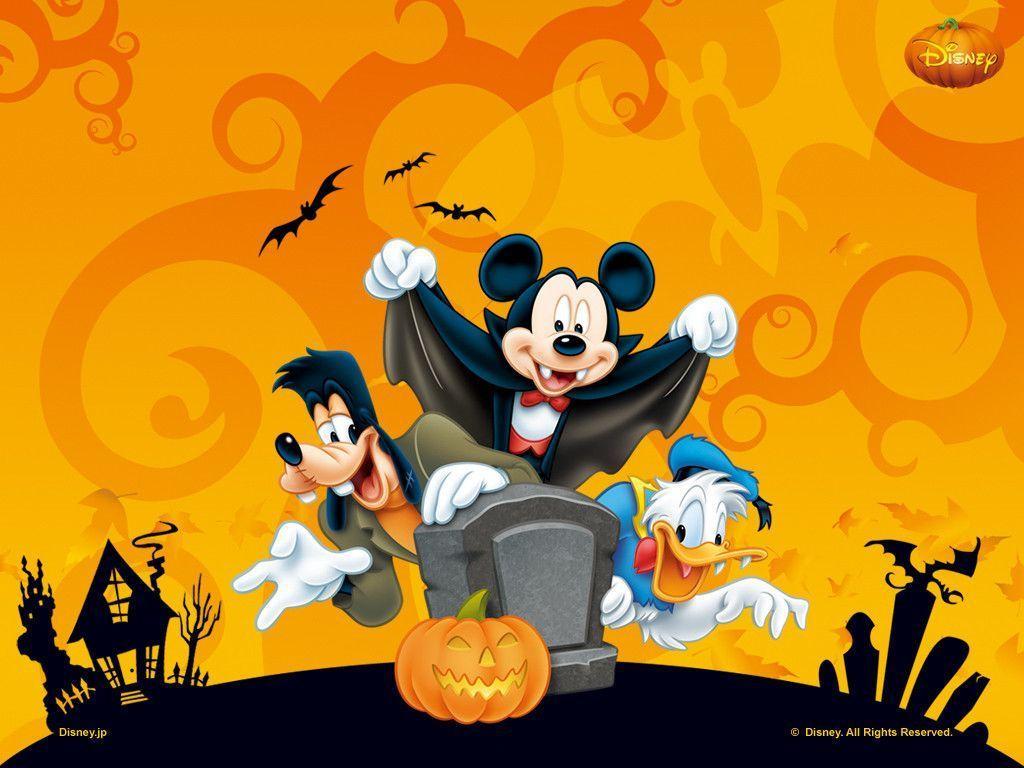 Disney Halloween Backgrounds - Wallpaper Cave