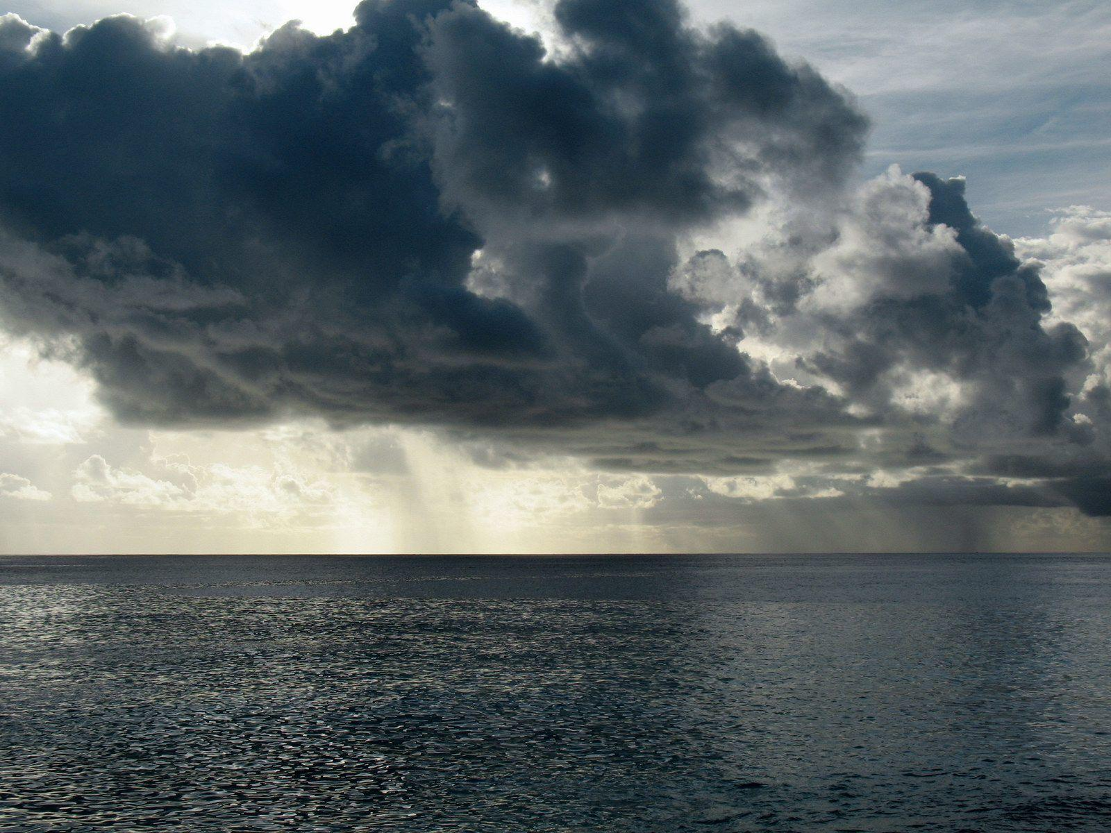 Stormy Weather, Indian Ocean, Maldives