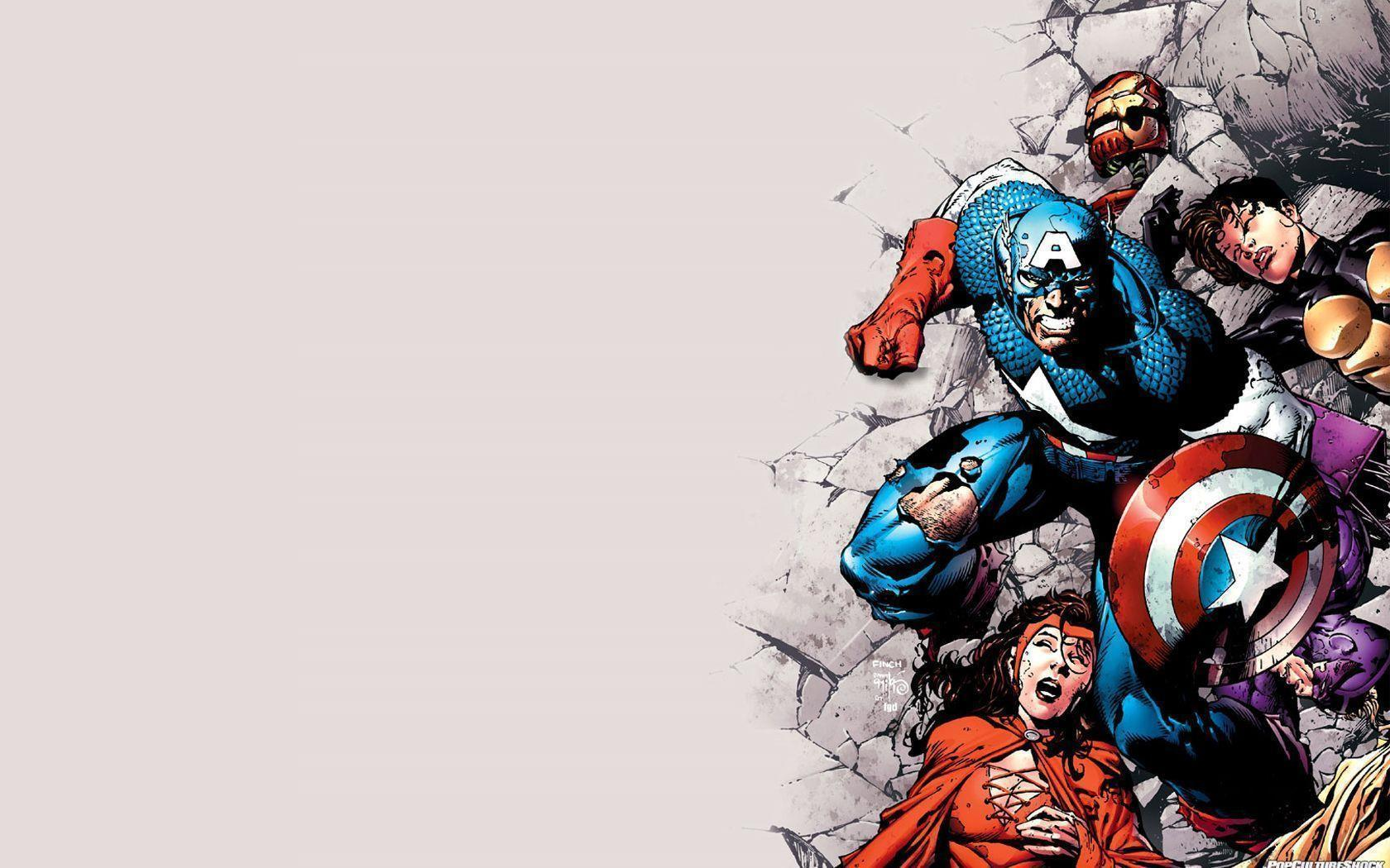 avengers comic logo wallpaper - photo #1