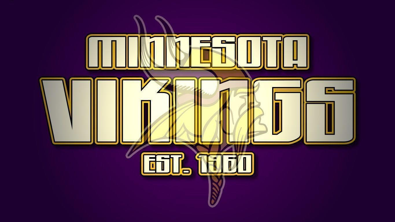 Minnesota Vikings Wallpaper 1366x768 px Free Download ...