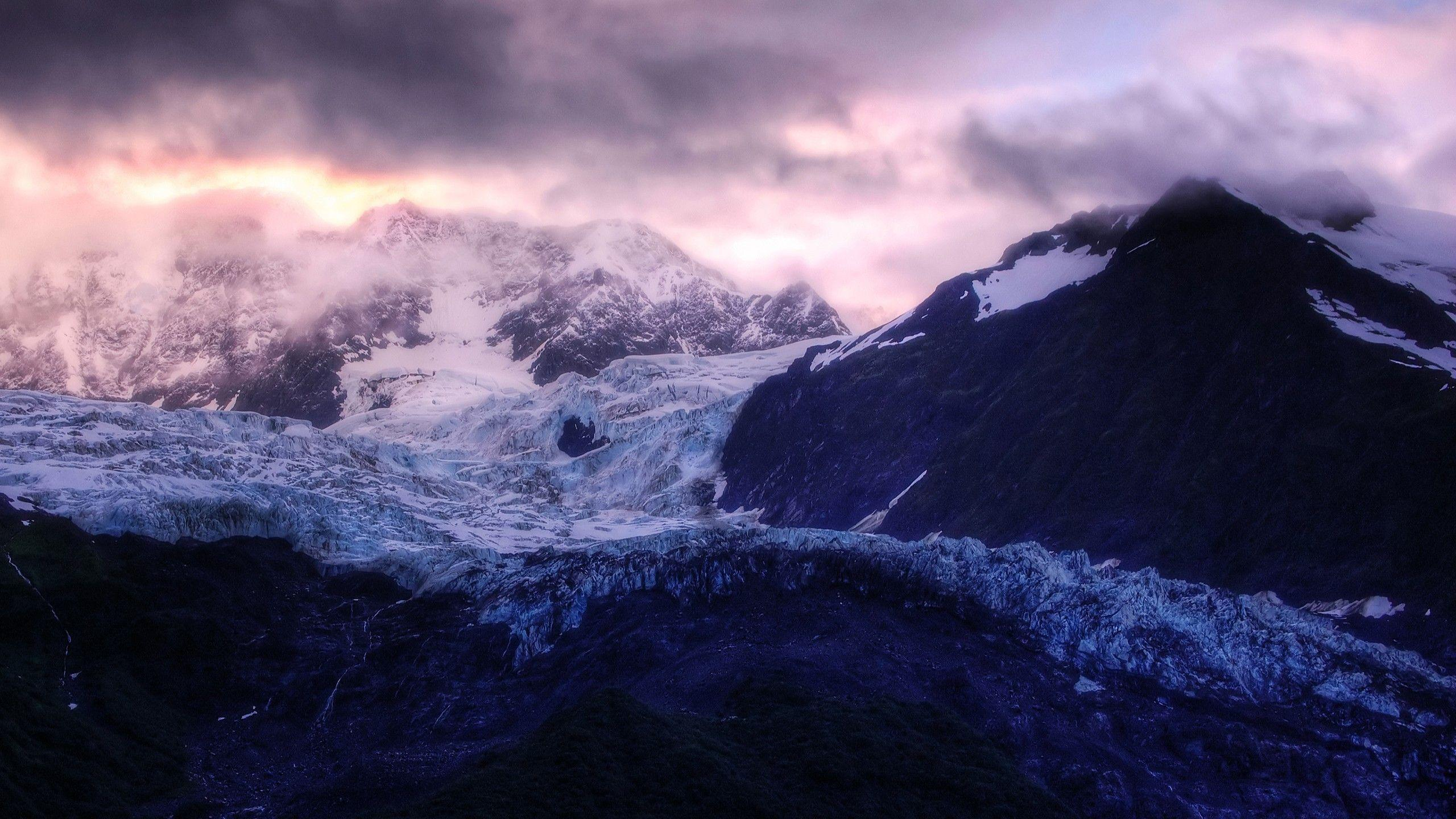 Daily Wallpaper: Glacier Sunrise in Alaska | I Like To Waste My Time