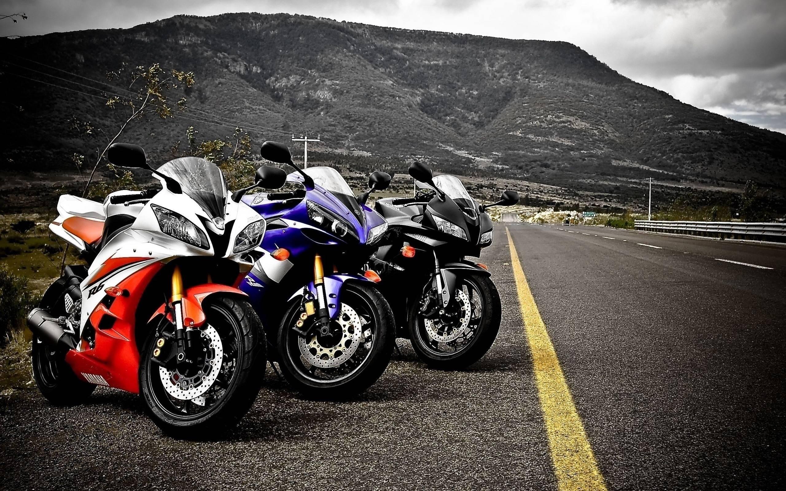 Yamaha YZFR Red HD Wallpaper Motorcycles HD Wallpaper