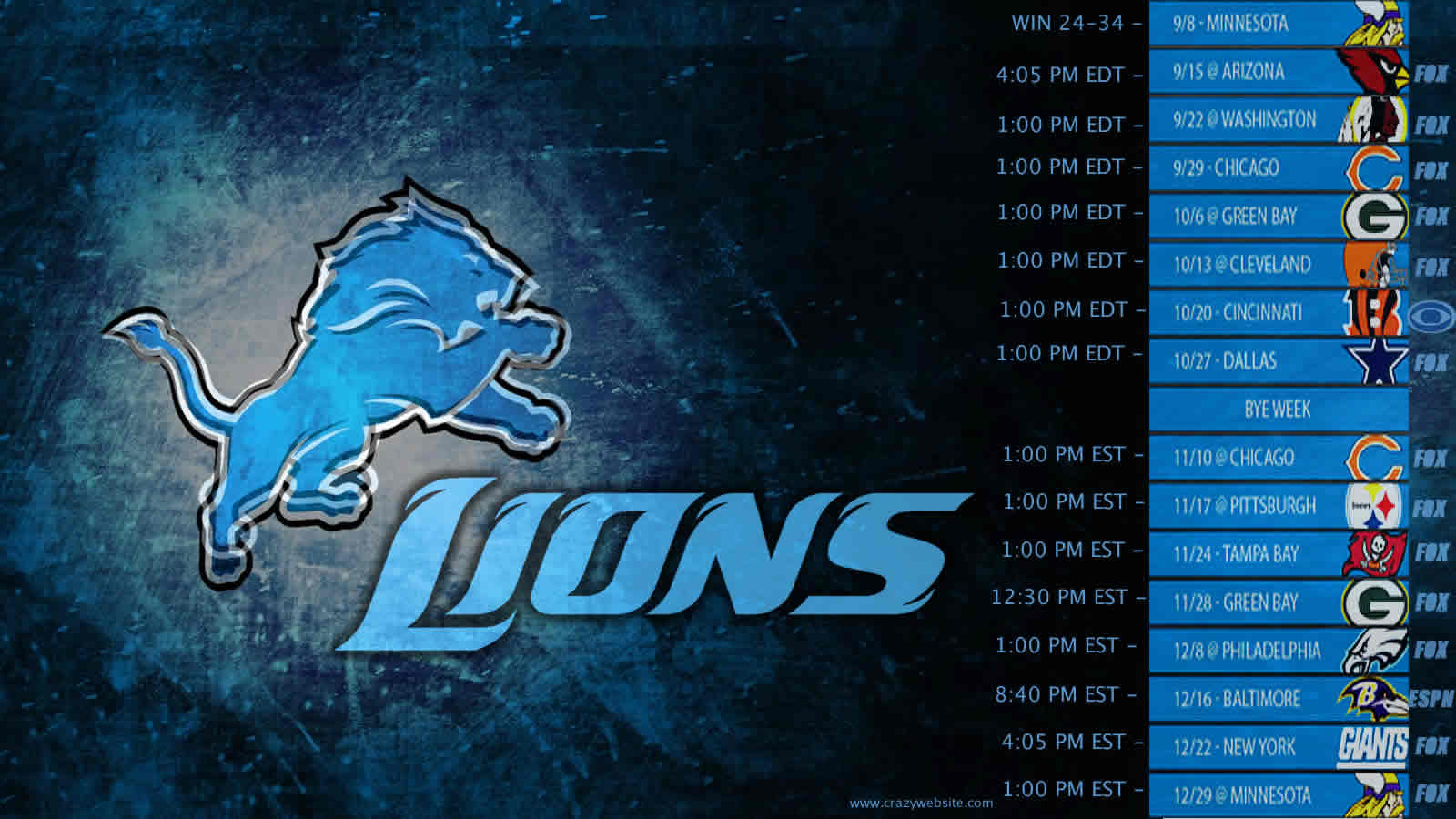 Detroit Lions NFL football team Wallpapers
