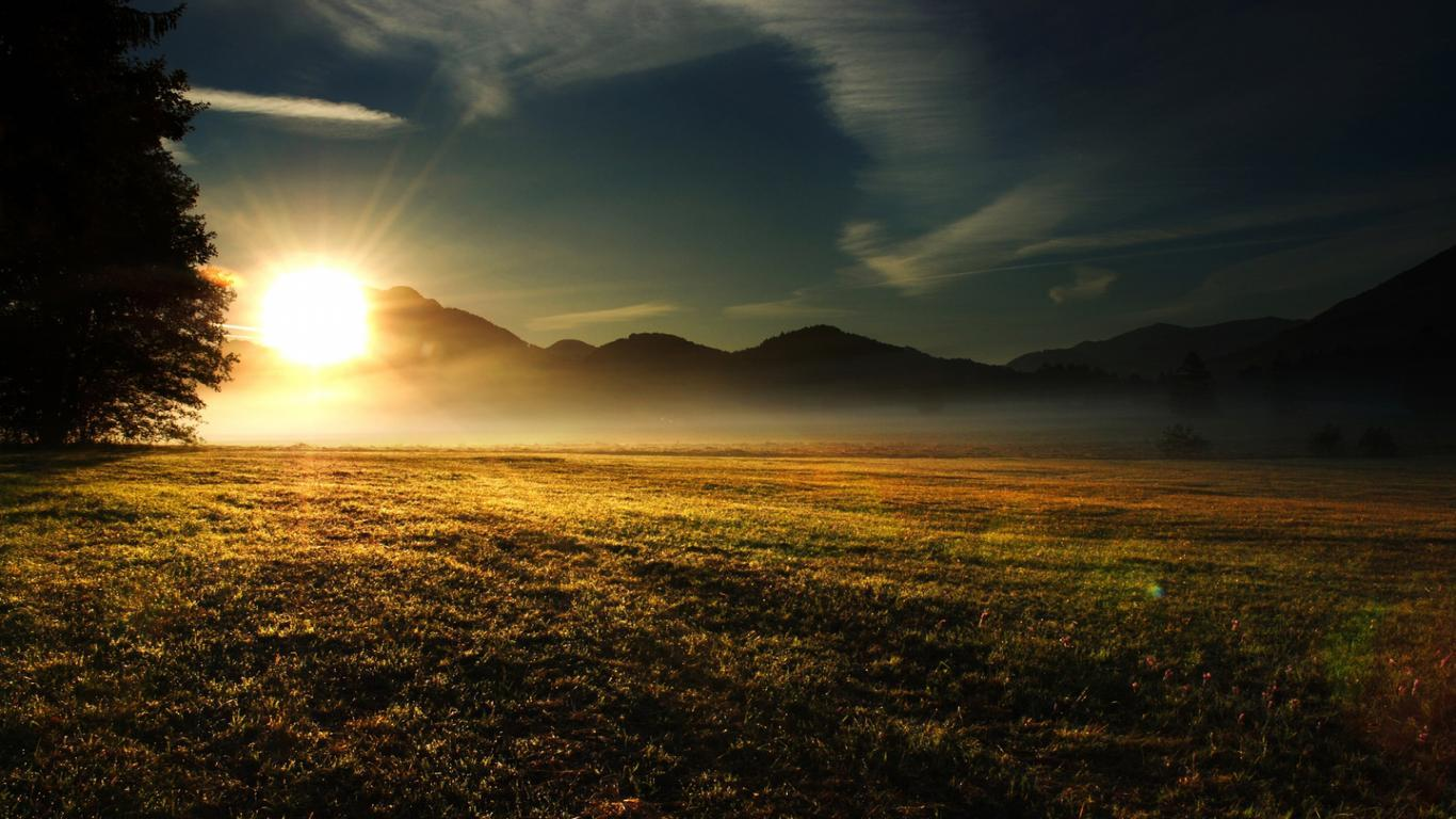 Wallpapers For > Sun Rise Wallpaper Android