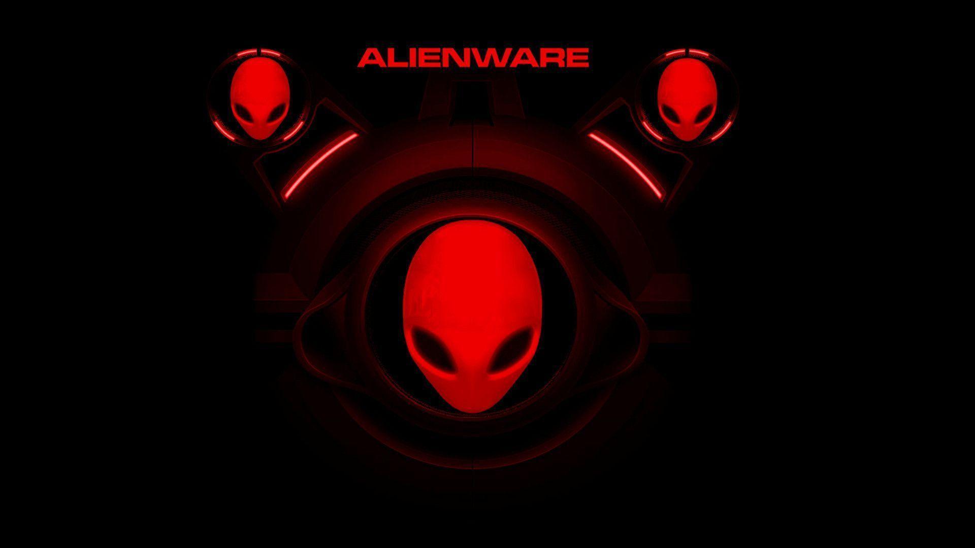 alienware desktop background red - photo #23