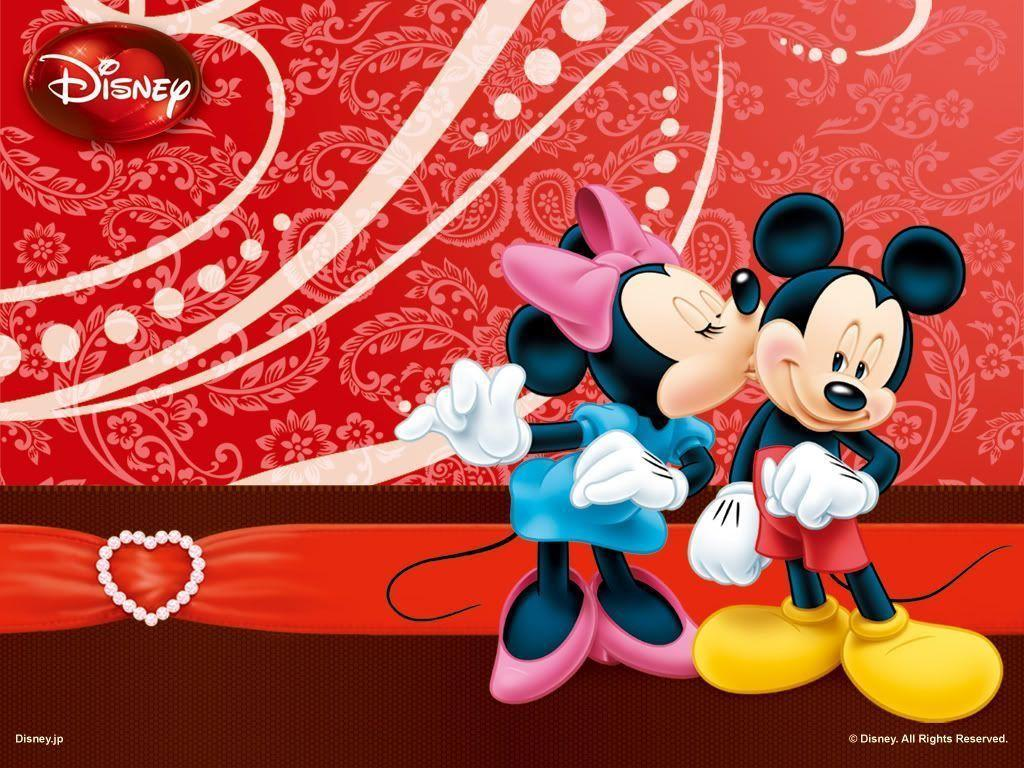 Wallpapers For > Red Minnie Mouse Wallpaper