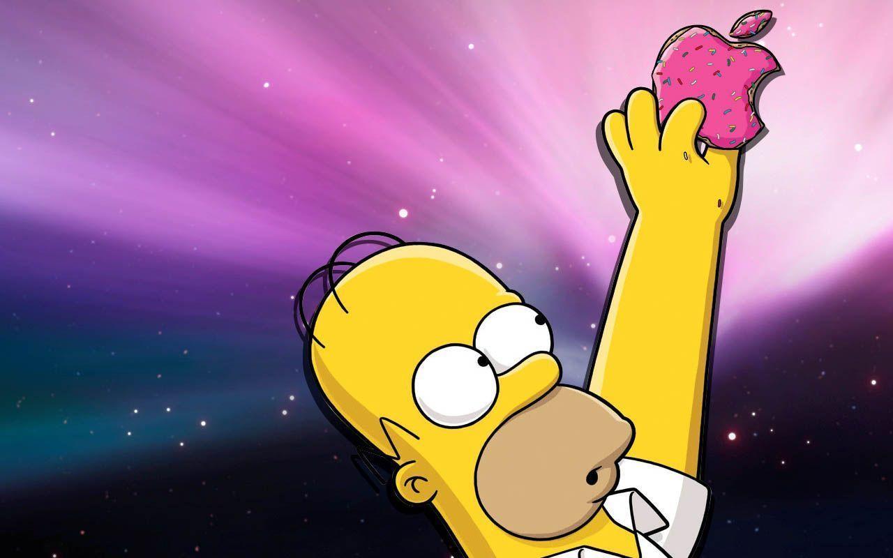 простого, обои пончики симпсоны верим, что мини
