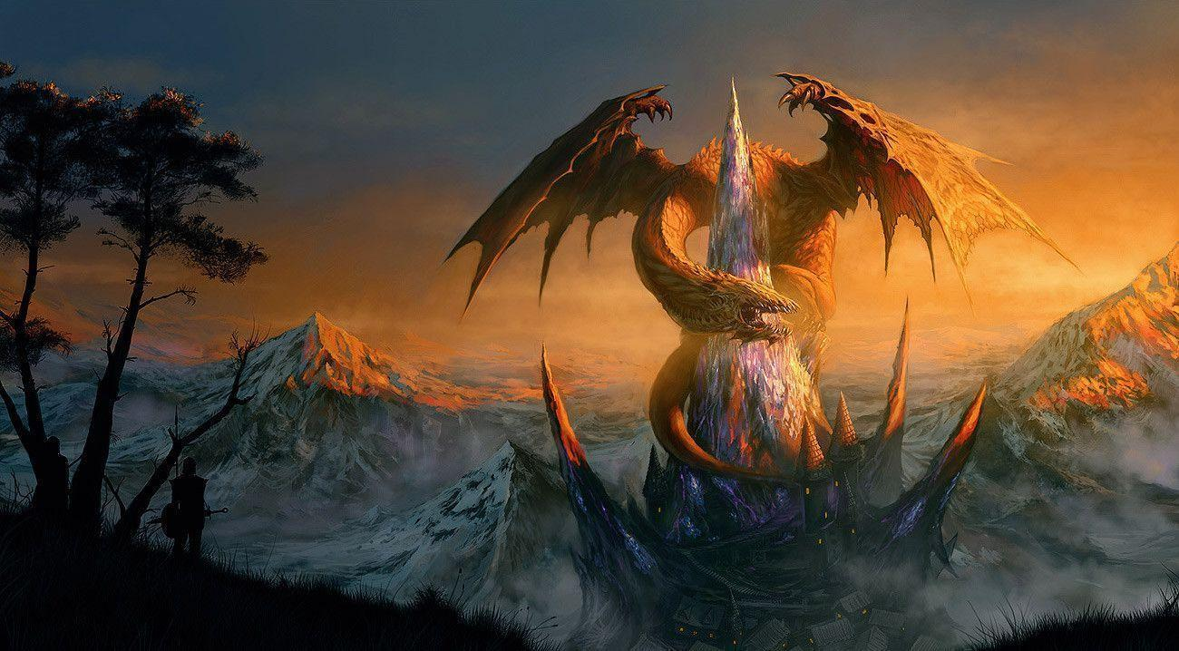 Image For > Epic Dragon Fantasy Wallpapers