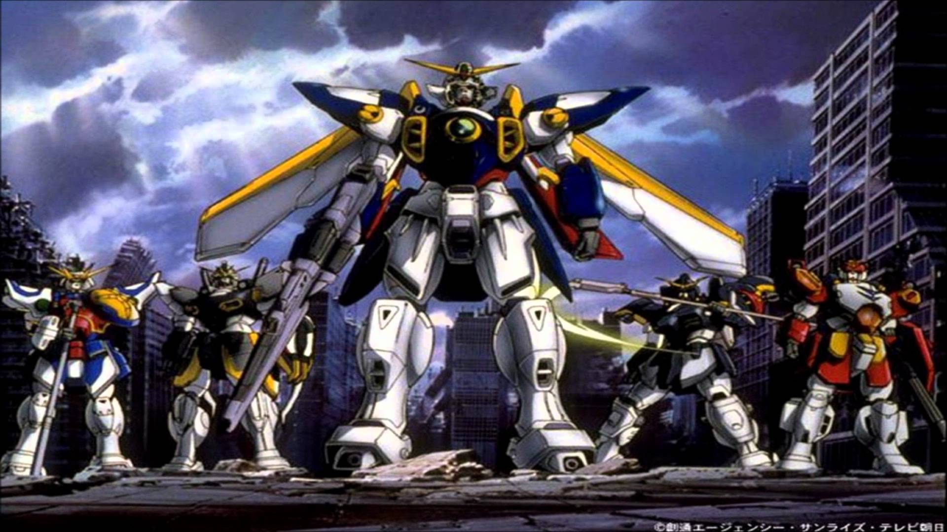 gundam wing endless waltz wallpapers wallpaper cave