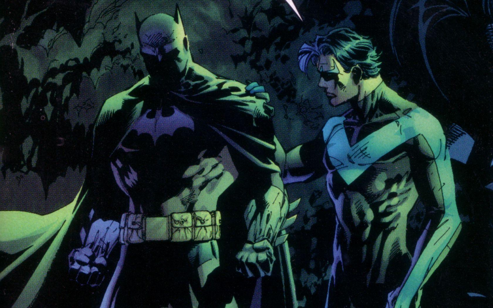 Wallpapers For Batman And Nightwing Wallpaper
