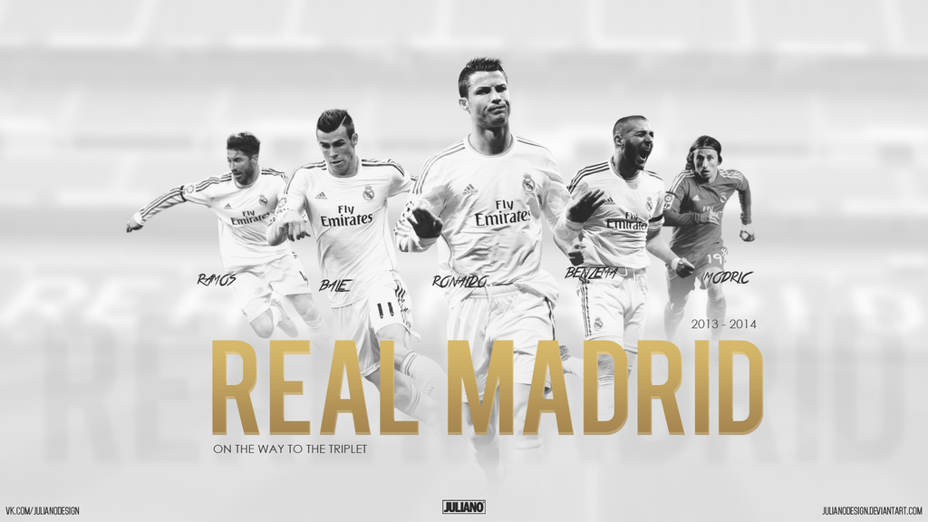 Real Madrid Team 2015 Wallpaper