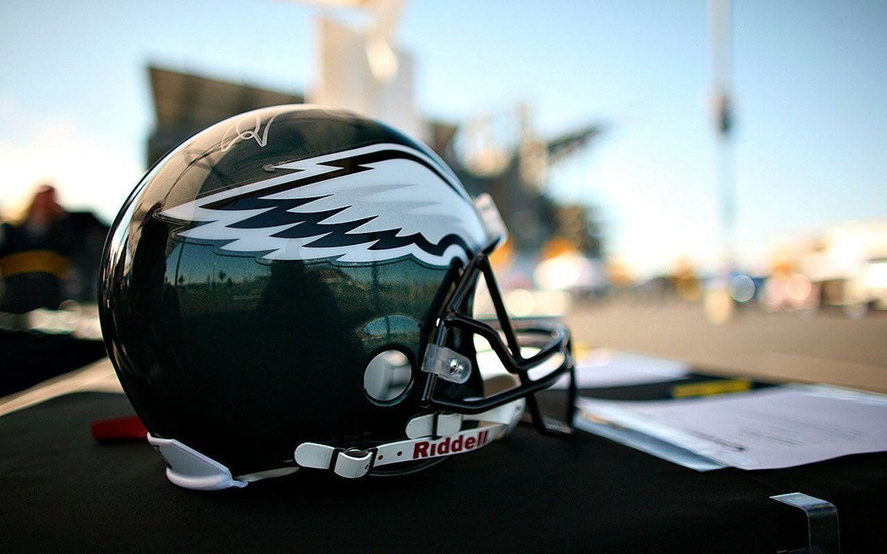 philadelphia eagles helmet close up wallpapers 1280×800