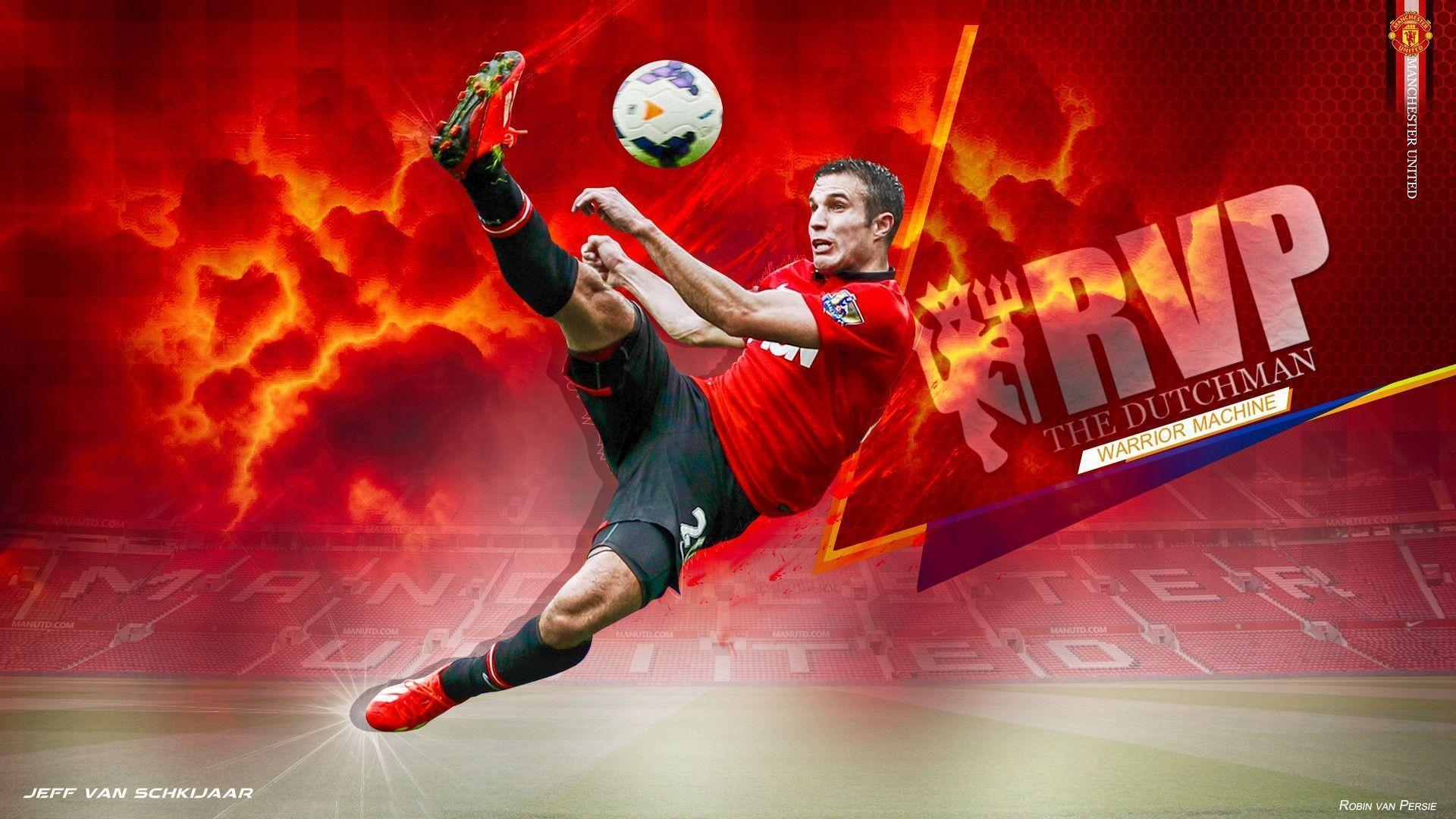 Manchester United Van Persie 2014 RVP MUFC football wallpapers