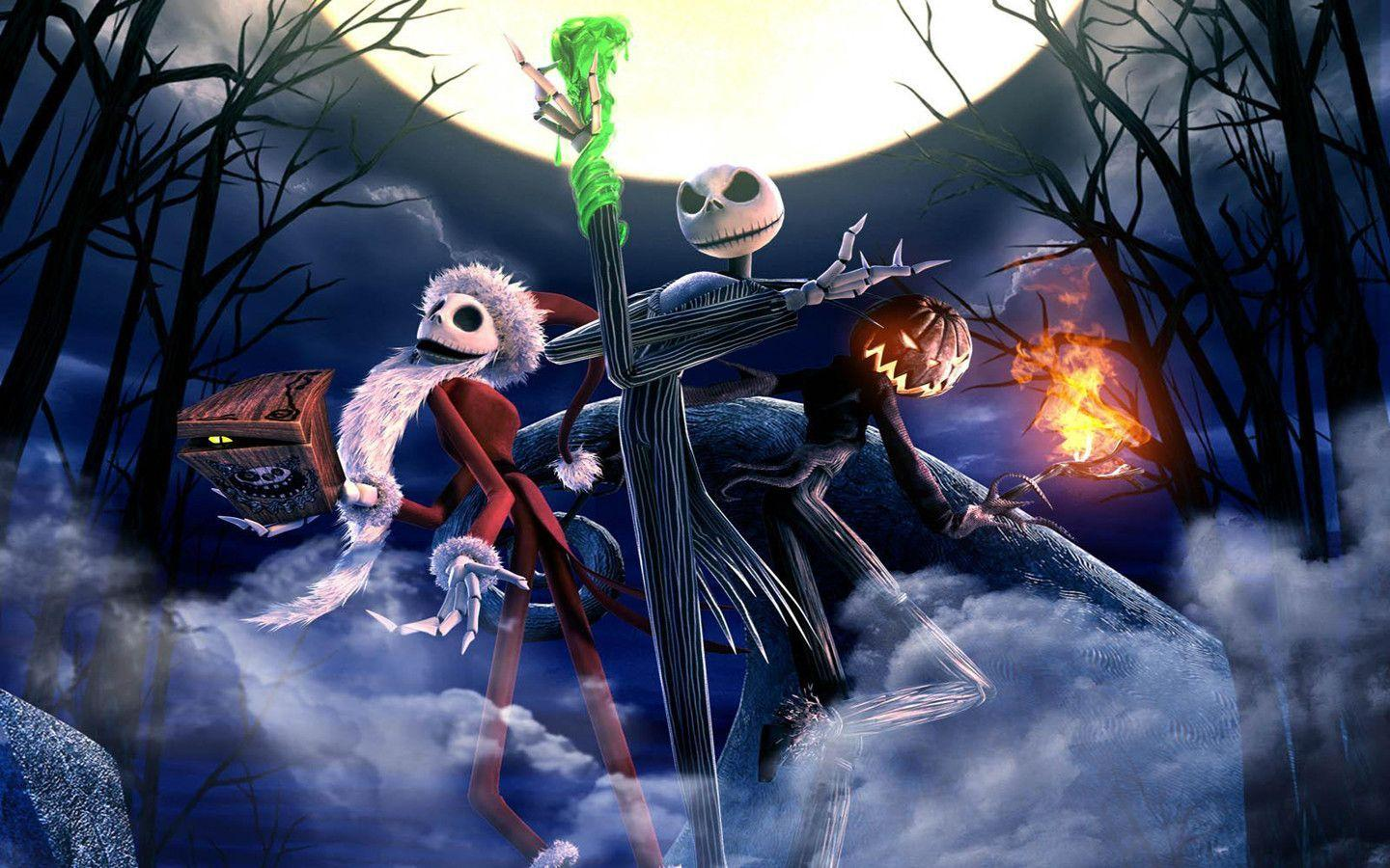 Wallpapers For > Jack Skellington Wallpapers